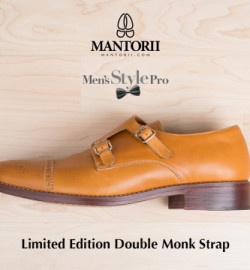 The Men's Style Pro x Mantorii Custom Double Monk Strap Shoes