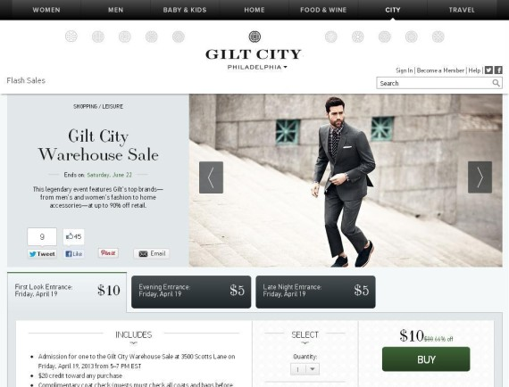 Gilt City Warehouse Sale Comes To Philly