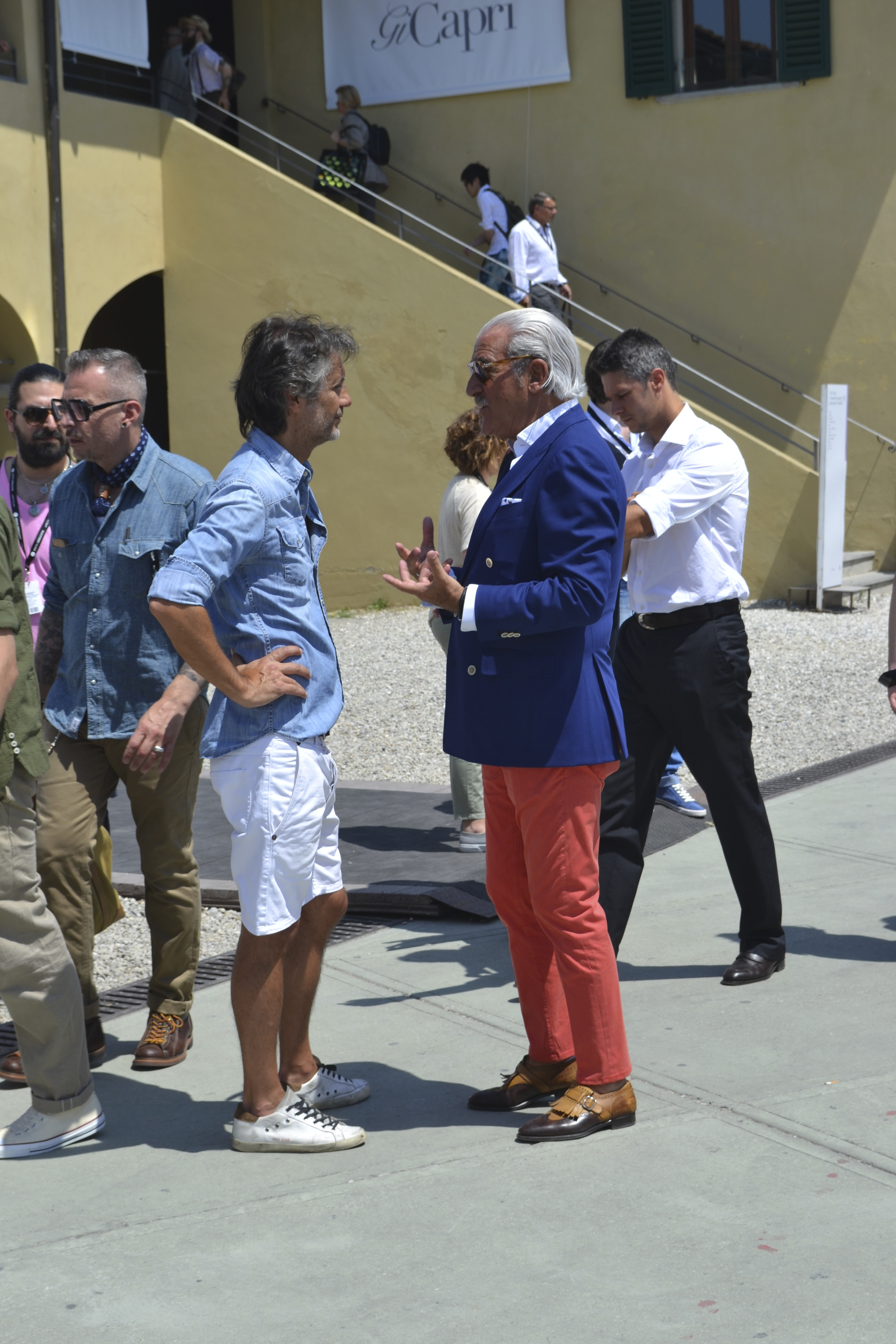 Quintessential Pitti Style