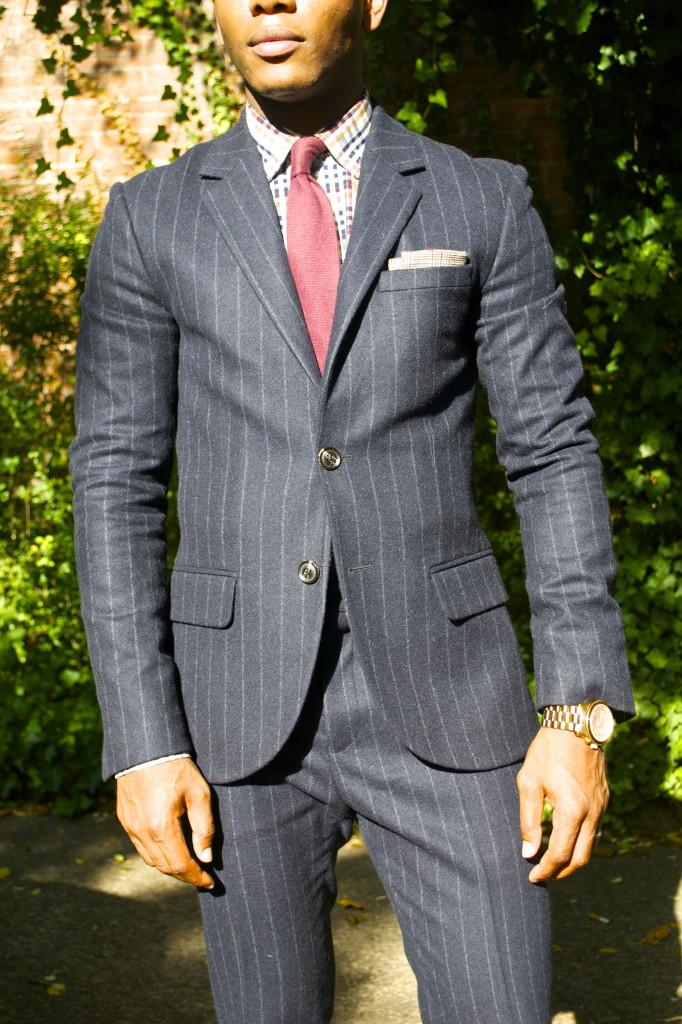 Jack Wills Suit on Sabir M. Peele