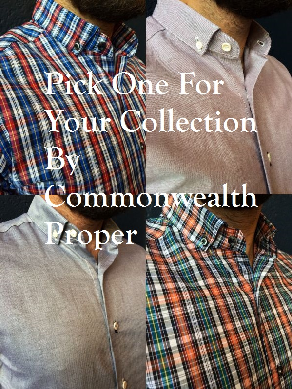 Commonwealth Proper 4 Ready To Wear Shirts