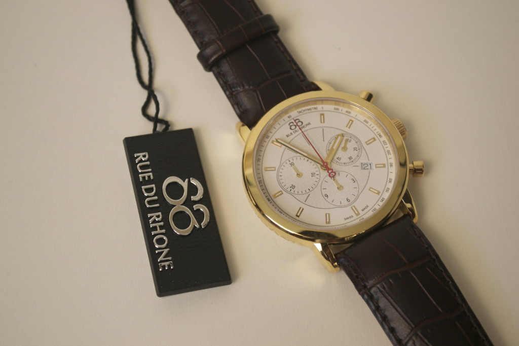 88 Rue du Rhone Chronography 35mm watch