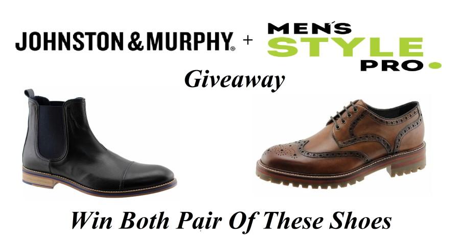 Johnston & Murphy x Men's Style Pro Giveaway