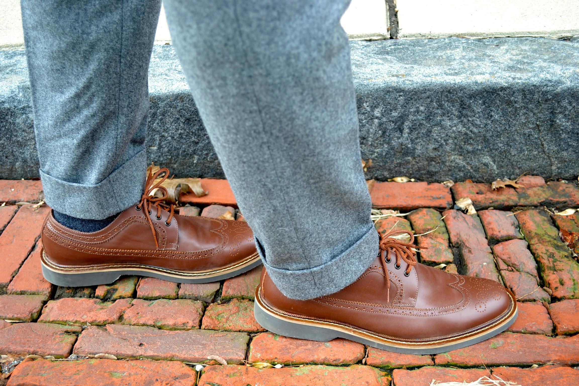 Winter Essentials: Men's Style Pro: Beckett Simonon Longwing