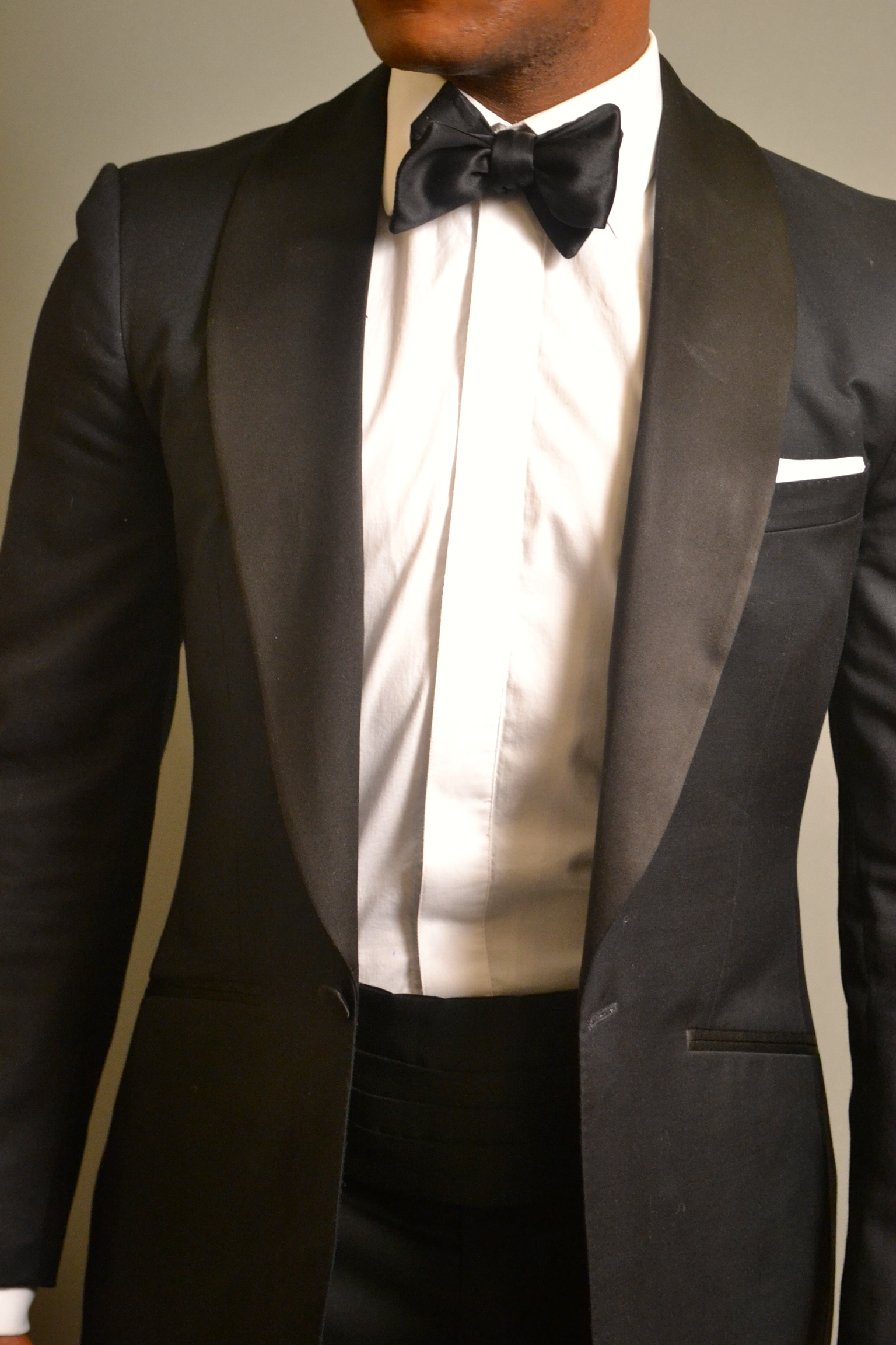 Enzo Custom Clothiers Midnight Blue Tuxedo