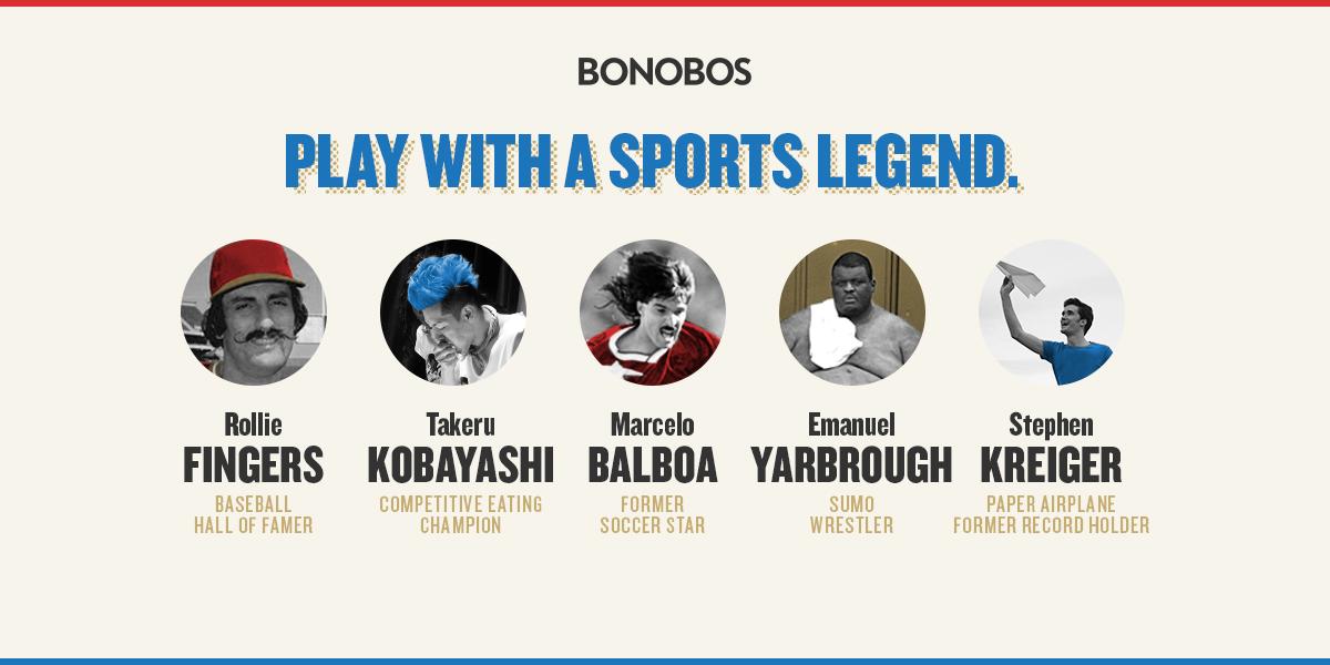 Bonobos Pro Am Athletes