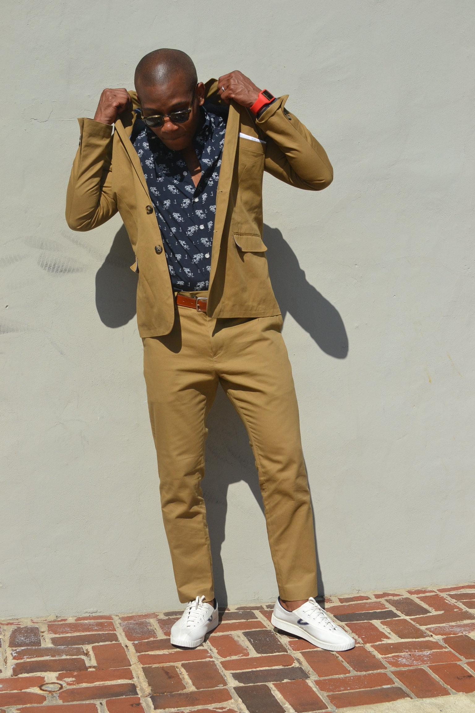Frank & Oak Khaki Suit on Men's Style Pro