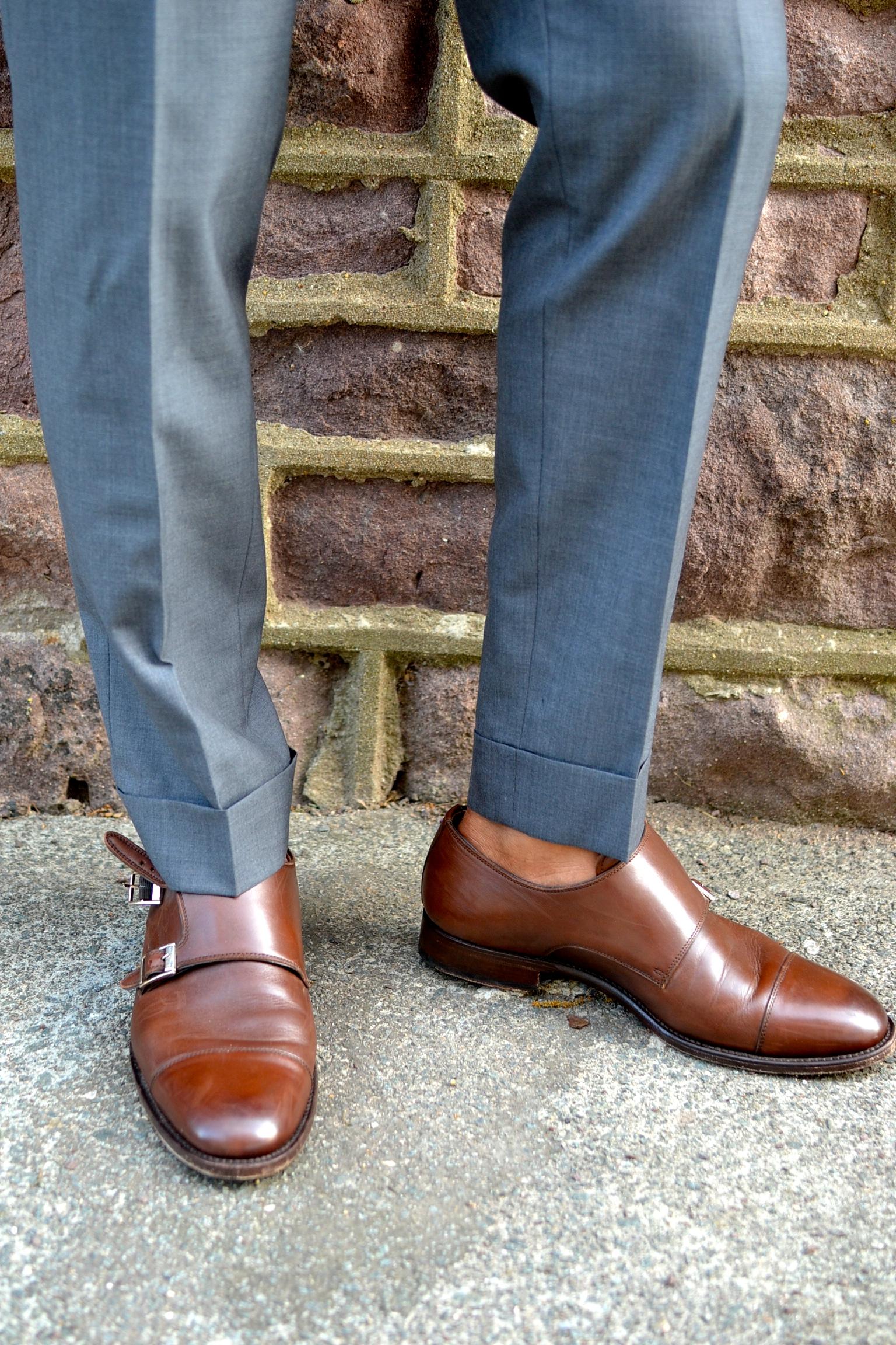 Shoe Passion No. 591 Double Monk Strap on Sabir Peele Of Men's Style Pro