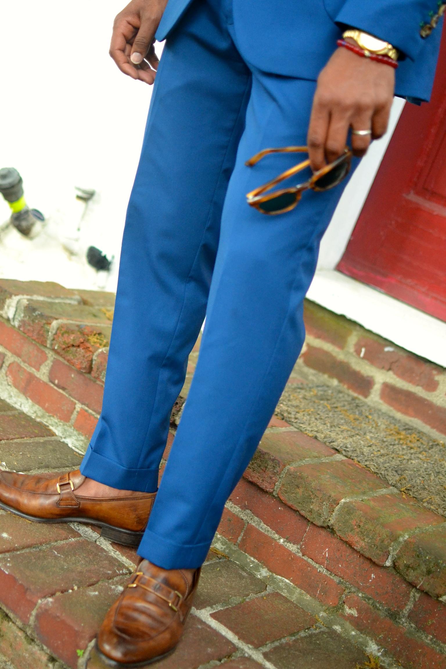 Black Pier Suit on Men's Style Pro
