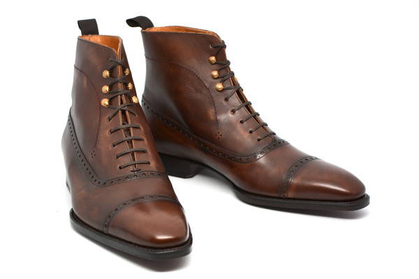guillaume II Cobbler Union Captoe Boots On Men's Style Pro review