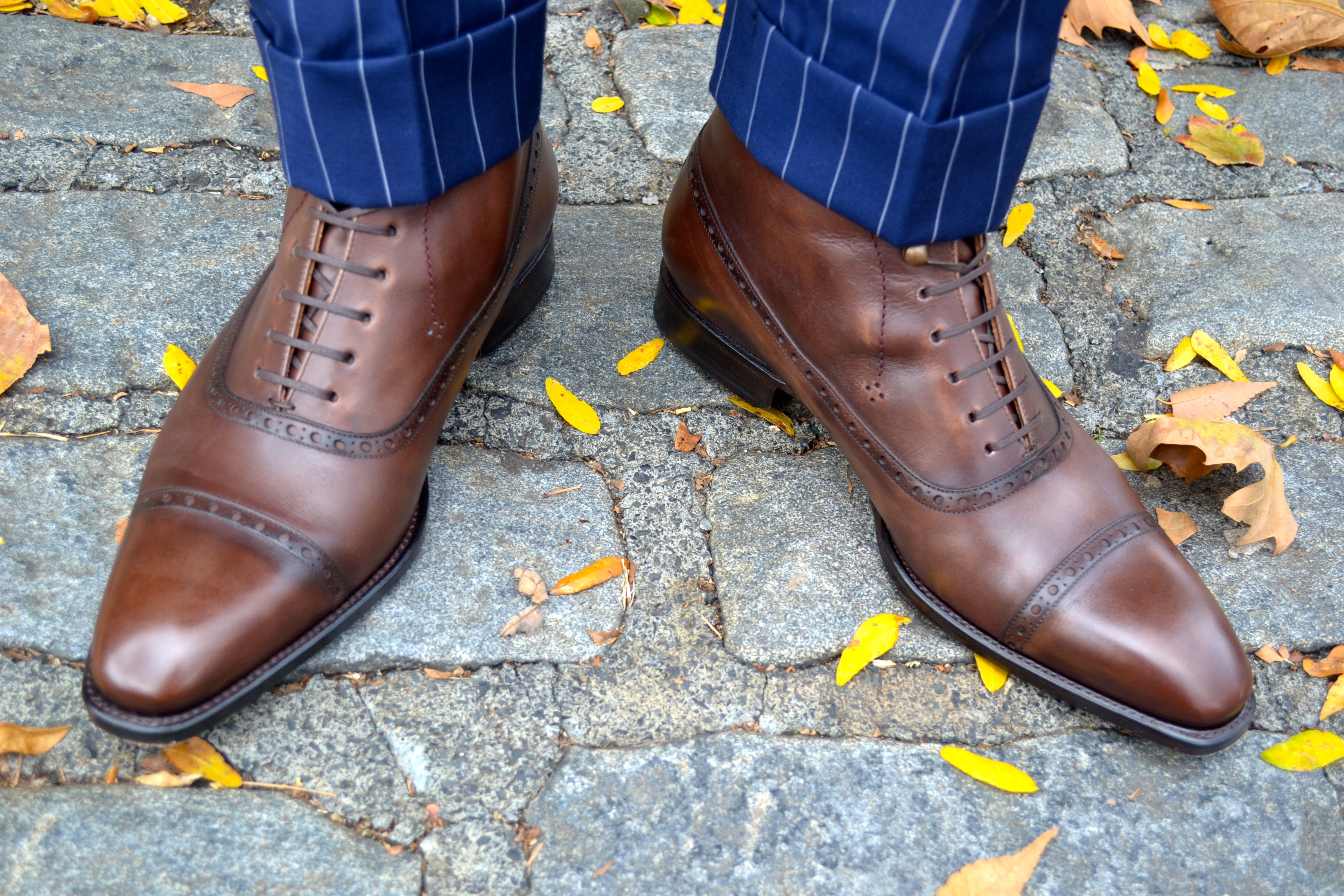 Cobbler Union Guillaume II Brown Leather Boots