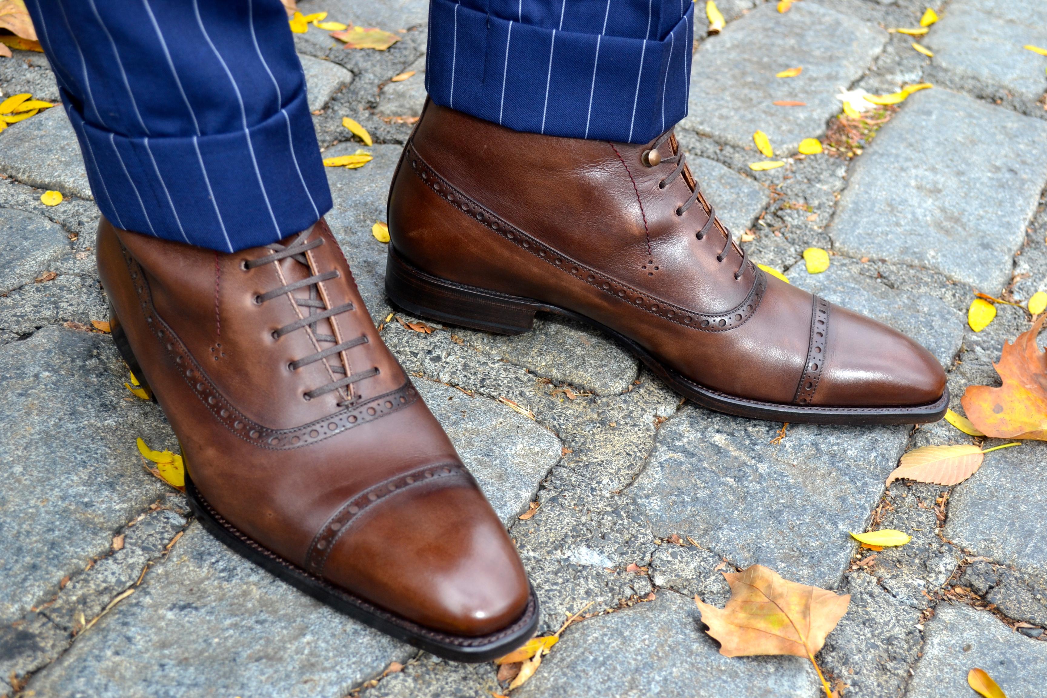 Cobbler Union Brown Leather boots