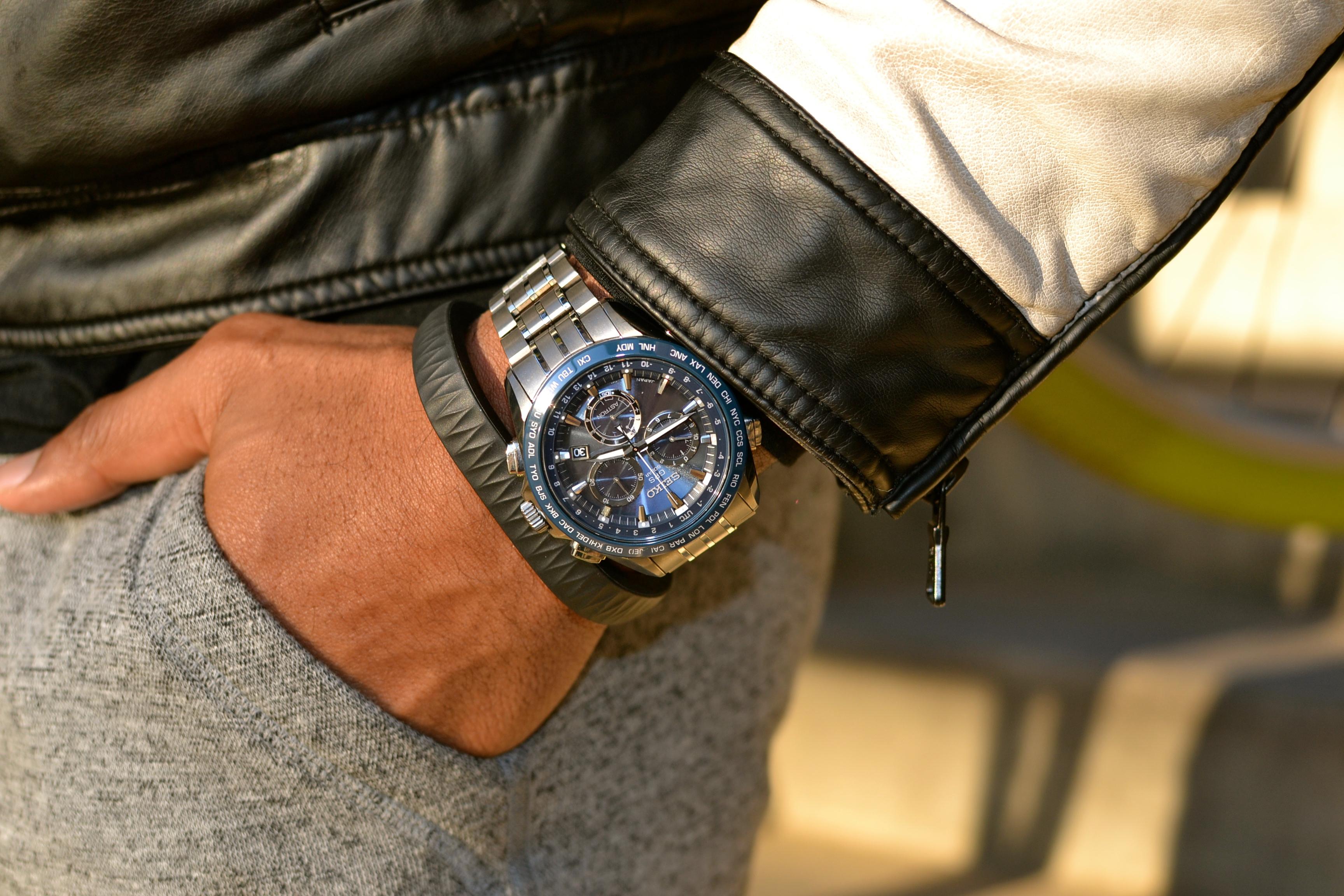 Up Jawbone & Seiko Astron Watch