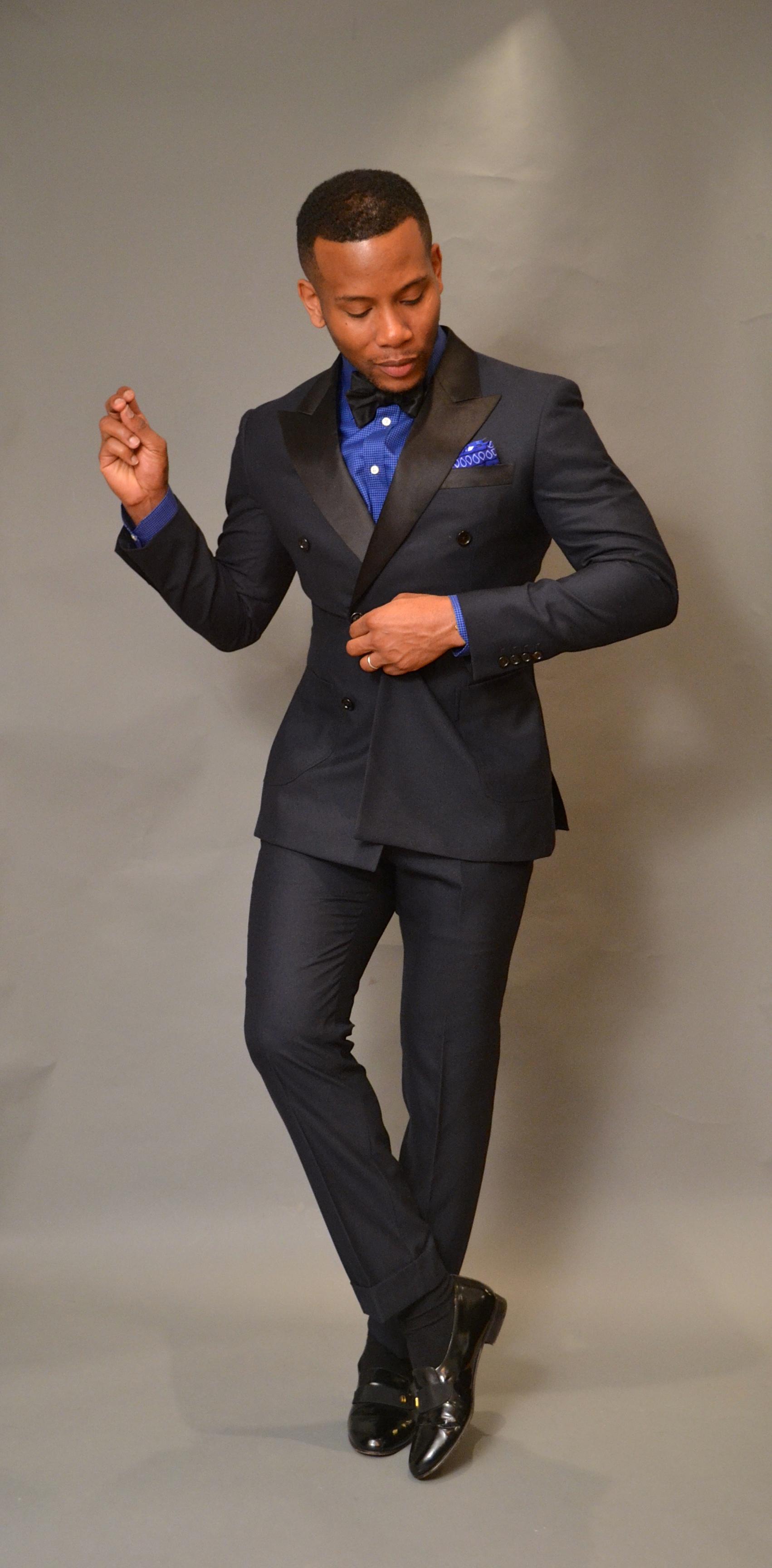 Men's Style Pro in Midnight Blue Indochino Tuxedo