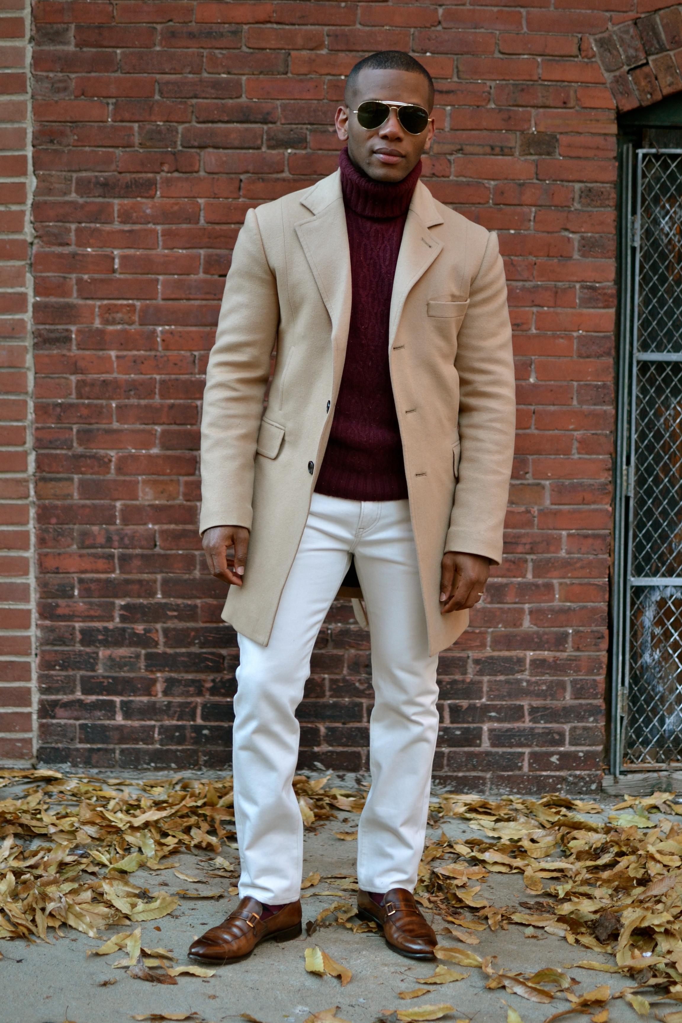 Indochino Camel Topcoat On Men's Style Pro