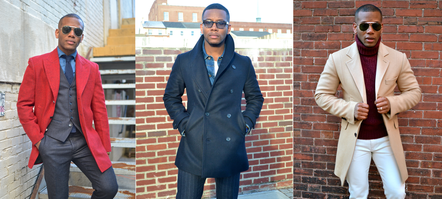 Men's Topcoats via Men's Style Pro
