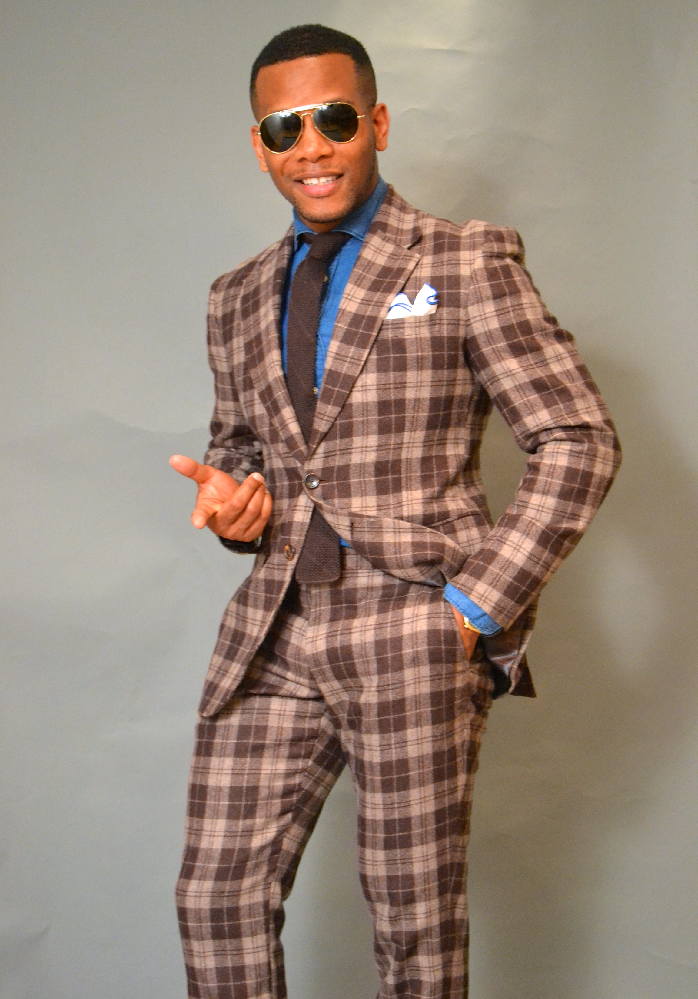 StudioSuits Bold Plaid Suit Review On Men's Style Pro