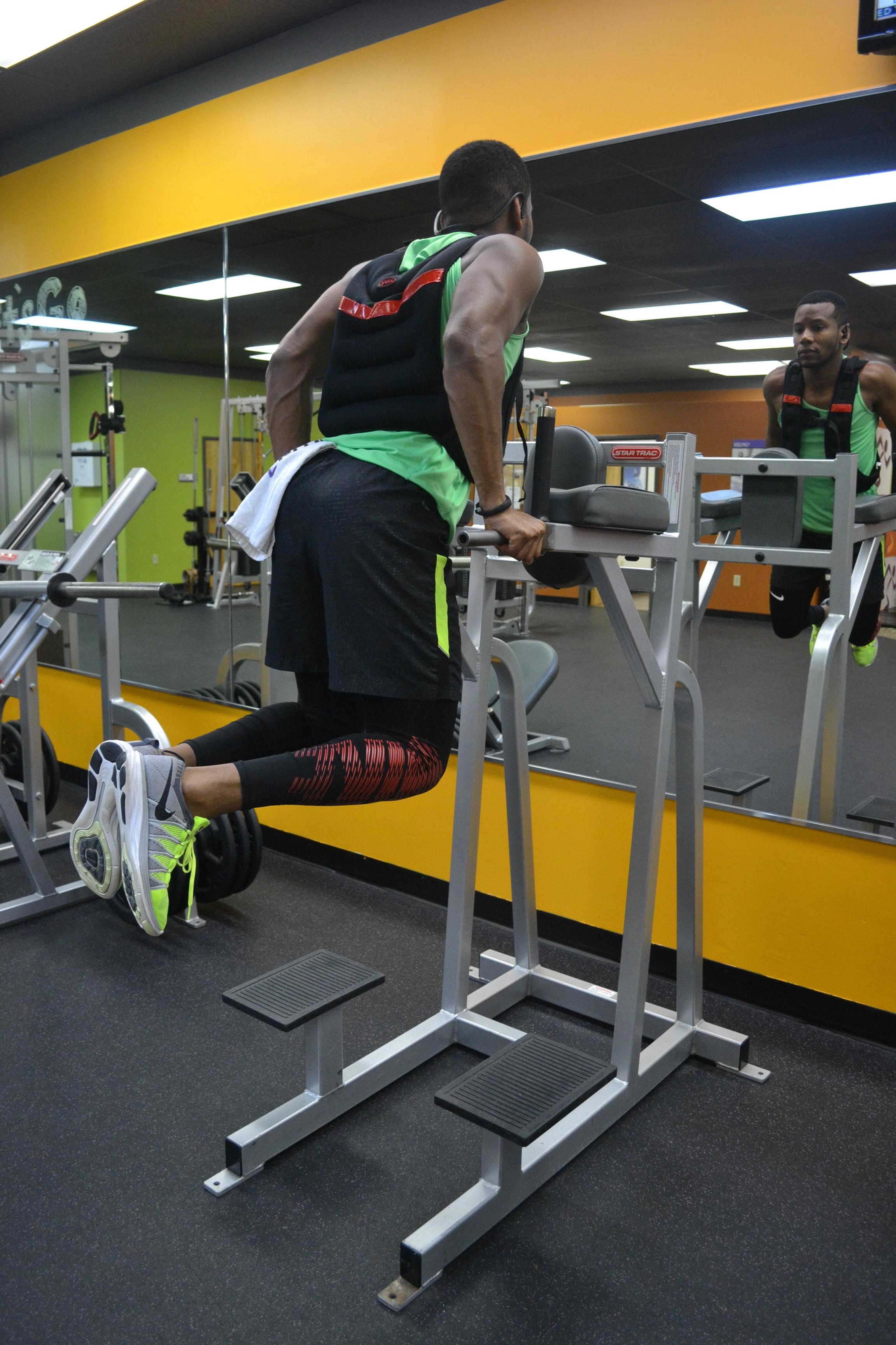 Sabir M. Peele For Men's Health Fitness