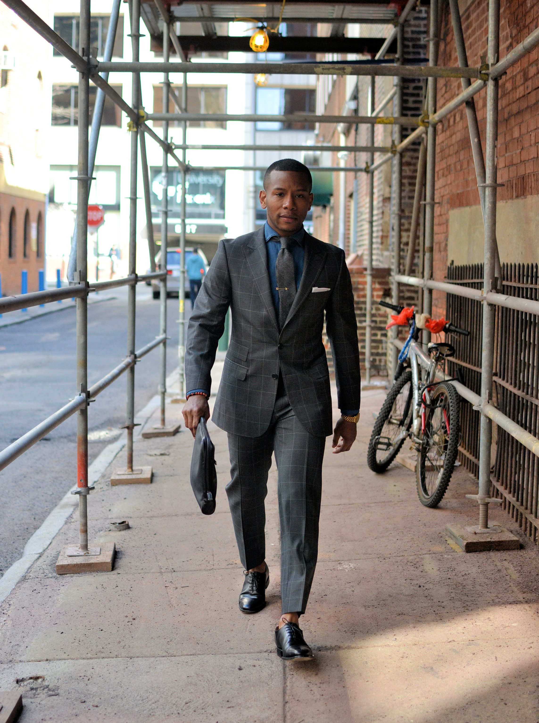 Men's Style Pro x Dragon Inside Spring 15' Suit Collaboration