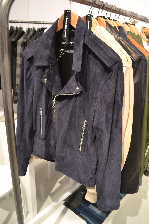 Cloth Surgeon Suede Moto Jacket