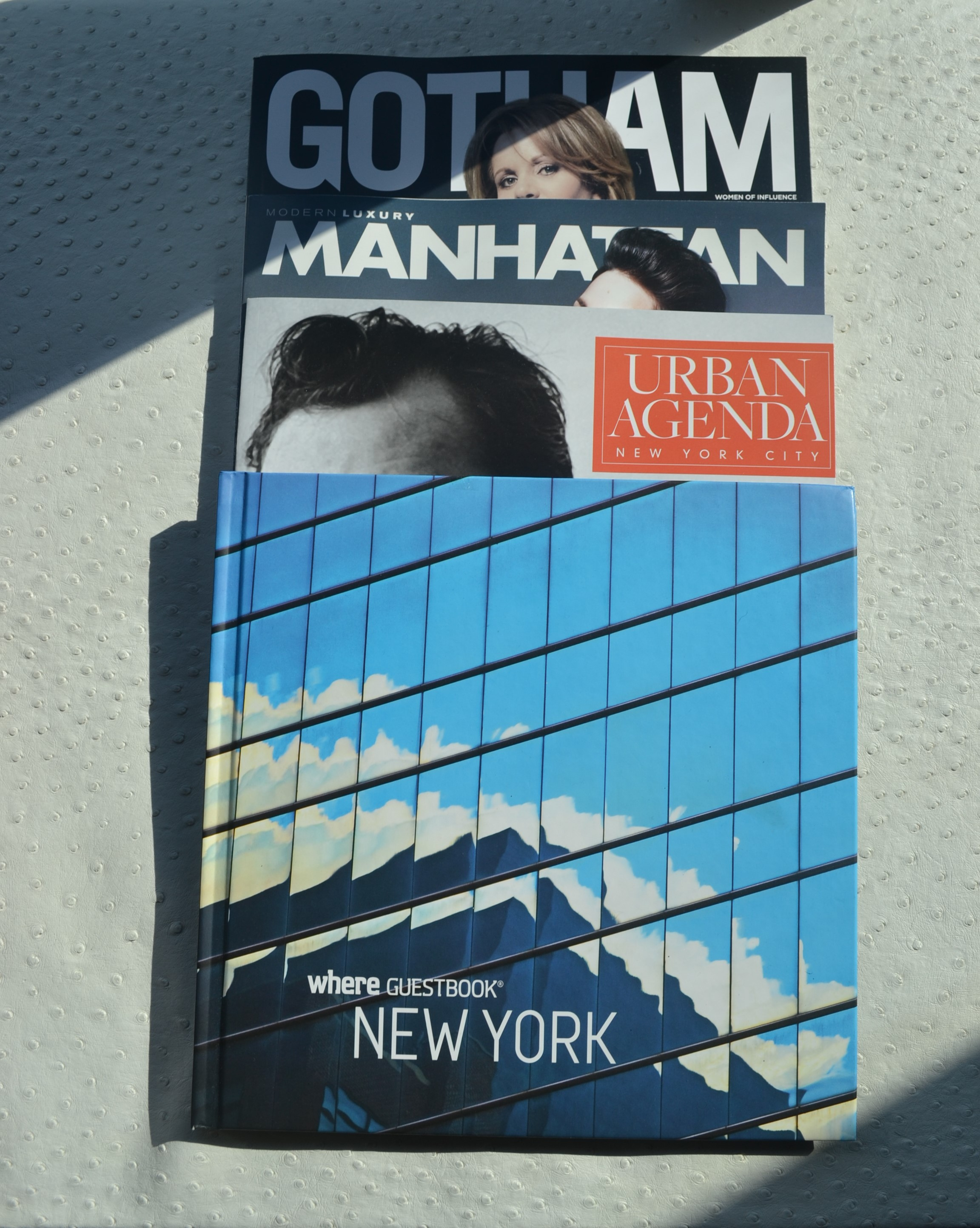 Reading Material in the room W Hotel NY Downtown