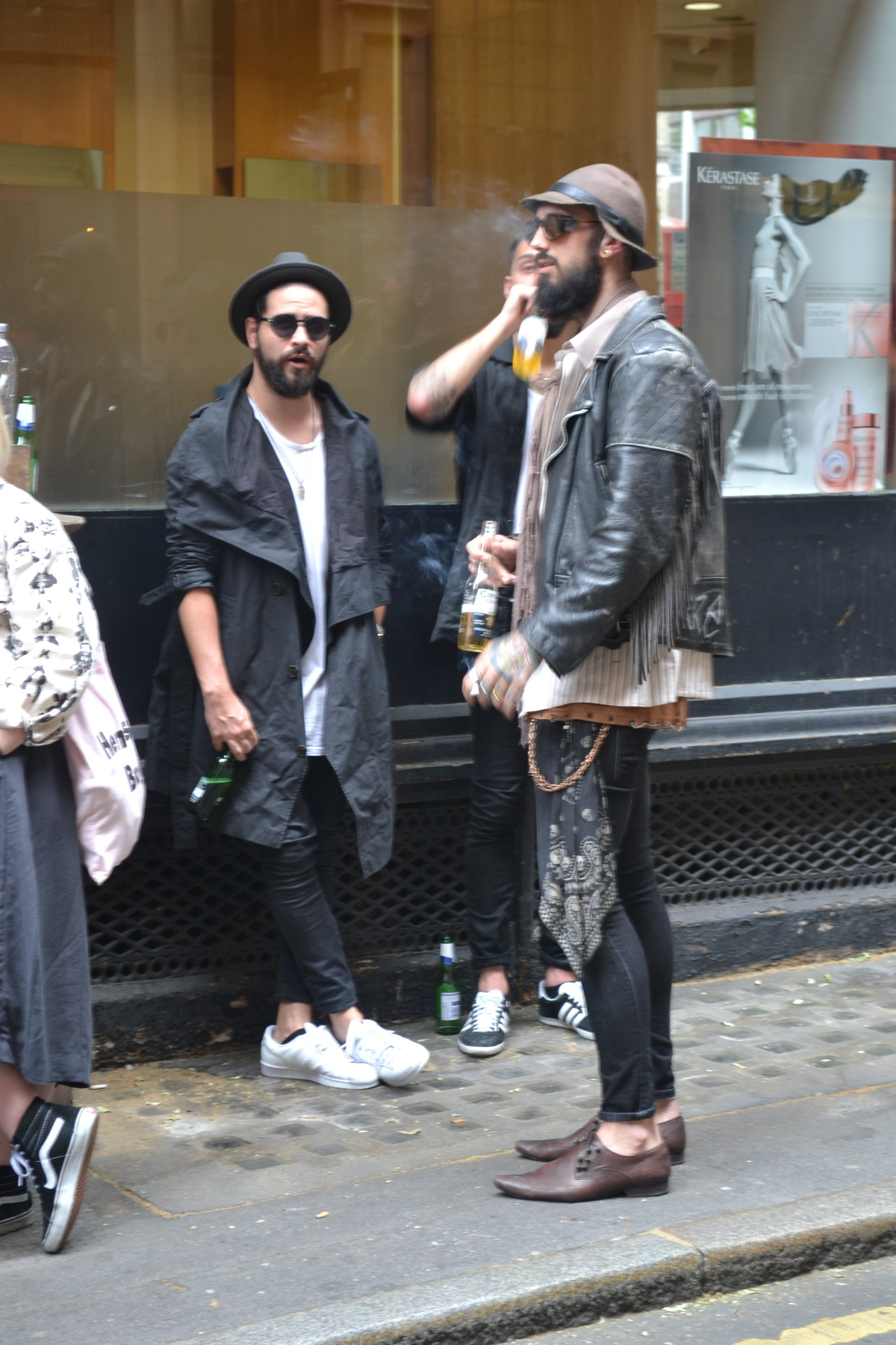 London Collections Men Street Style Day 1
