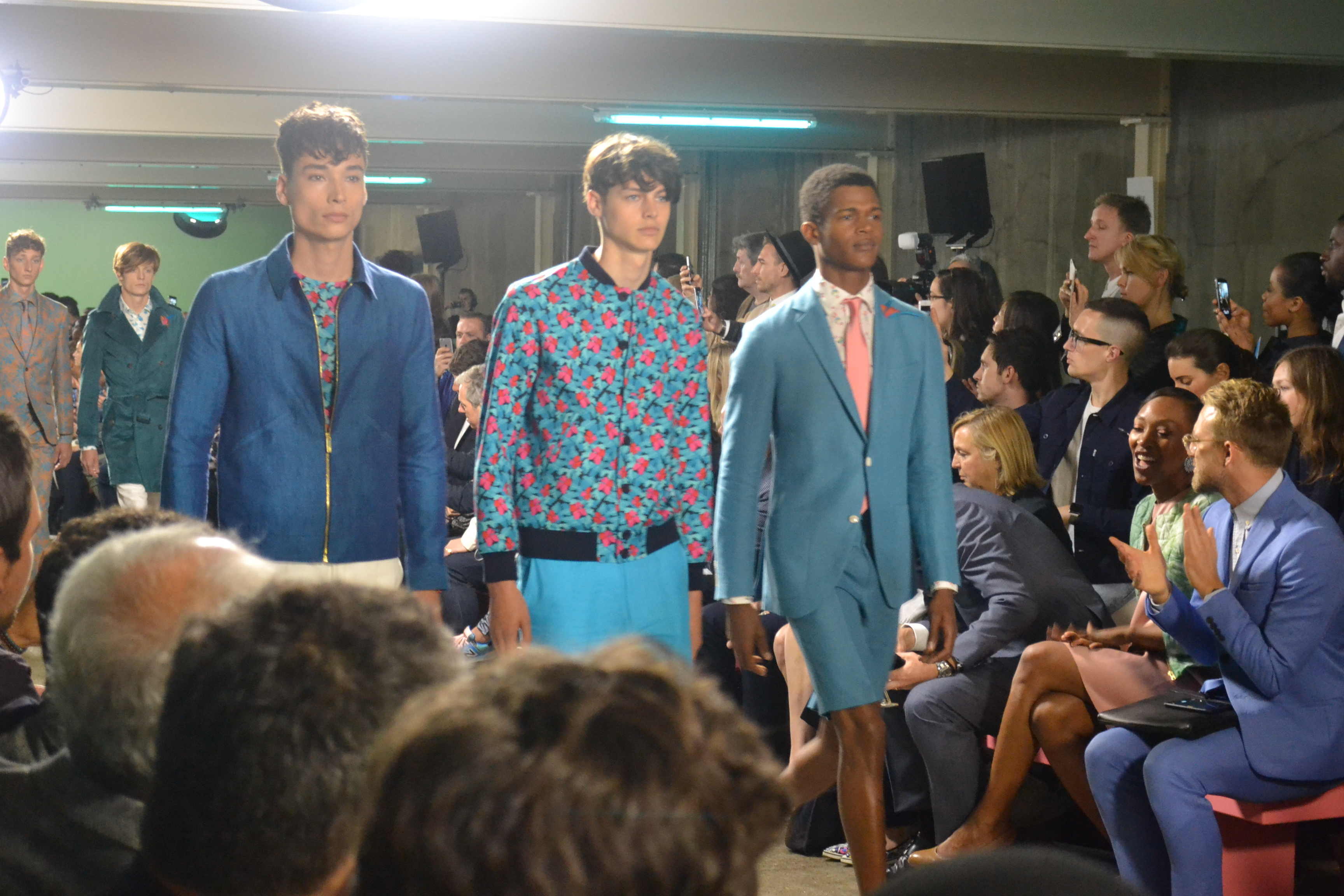 Richard James LCM SS16 Show