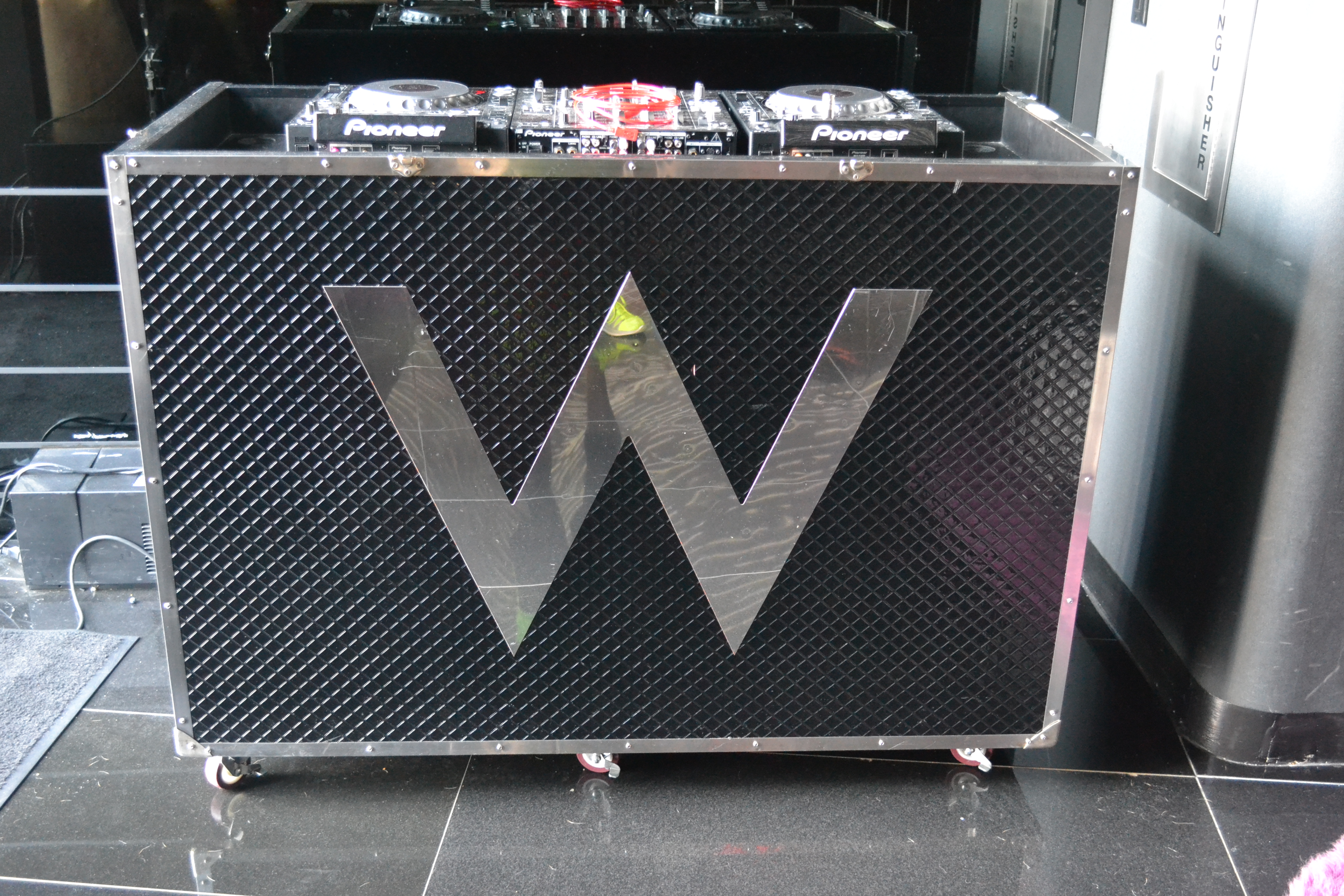 The DJ Booth At The W Hotel NY Downtown