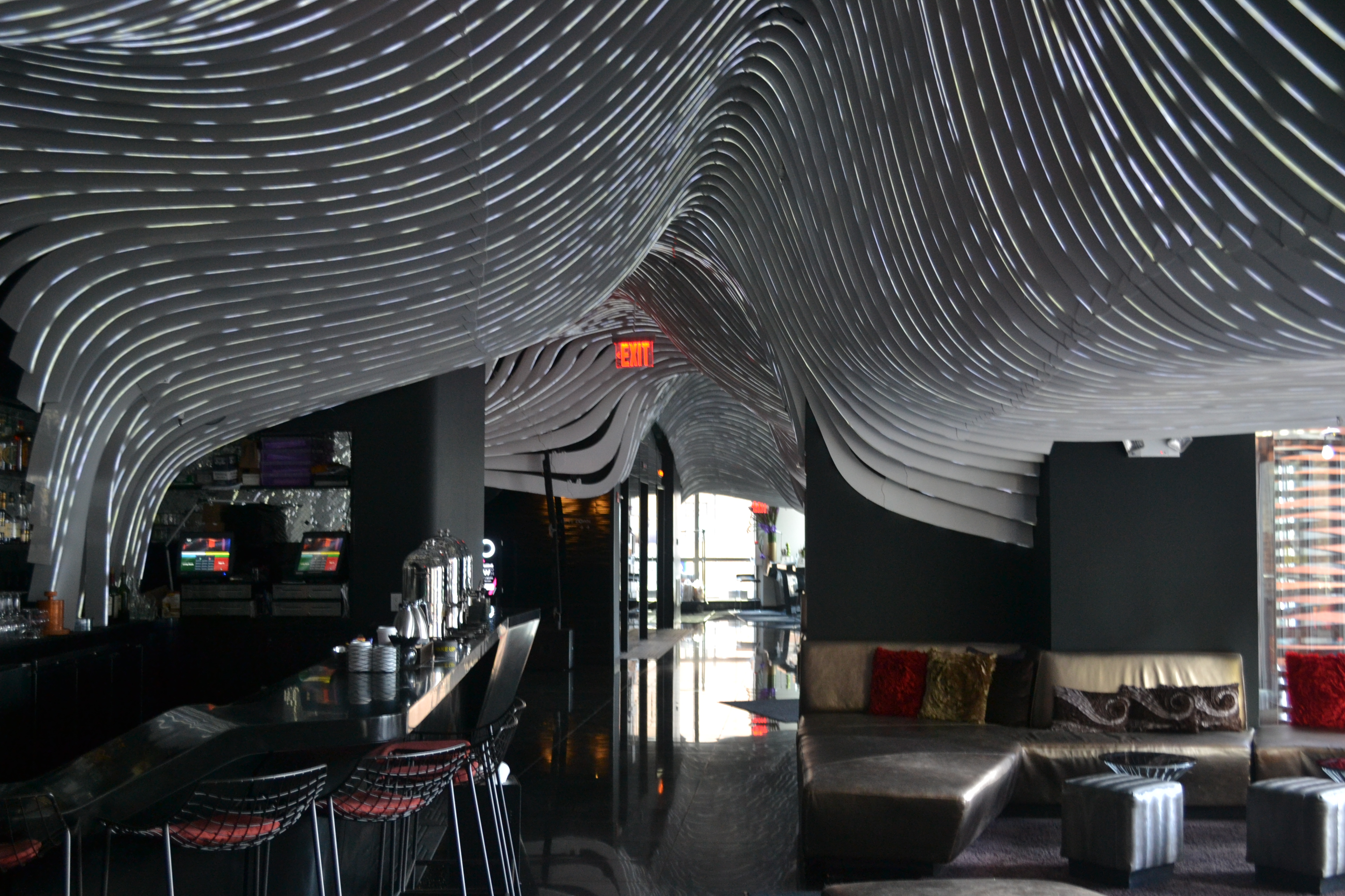 Livingroom Bar & Terrance at W Hotel NY Downtown