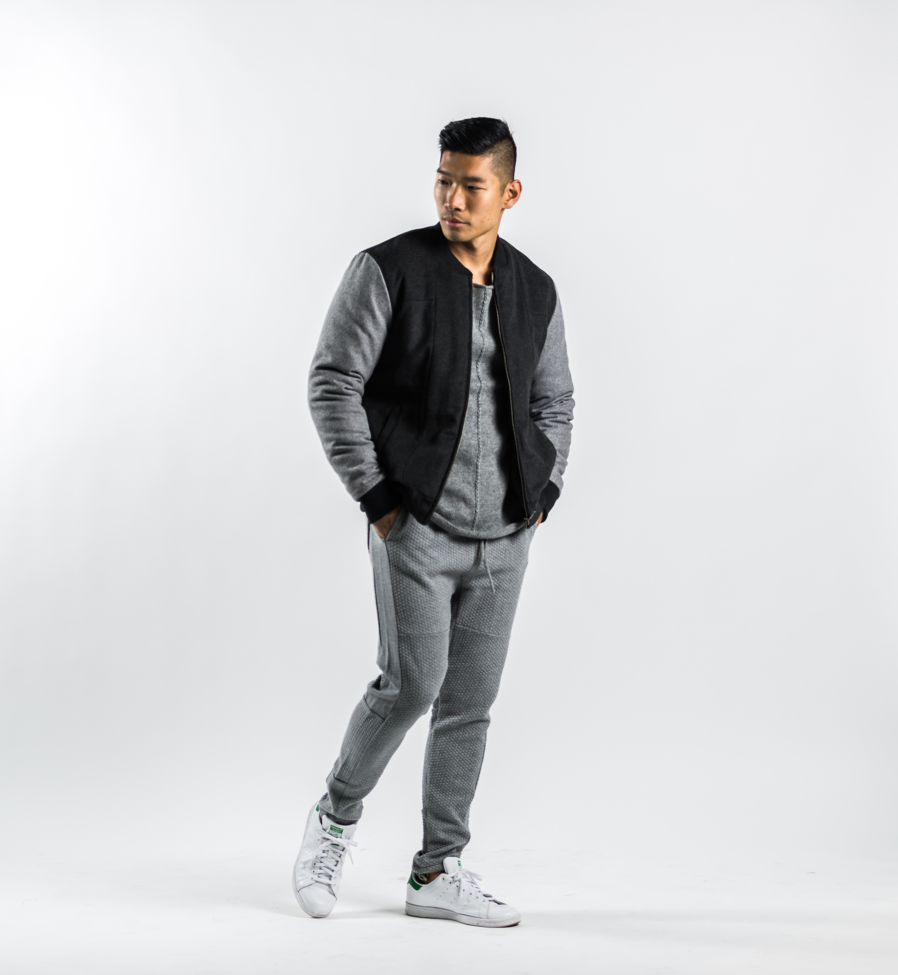 Leo Chan in Strand Clothing