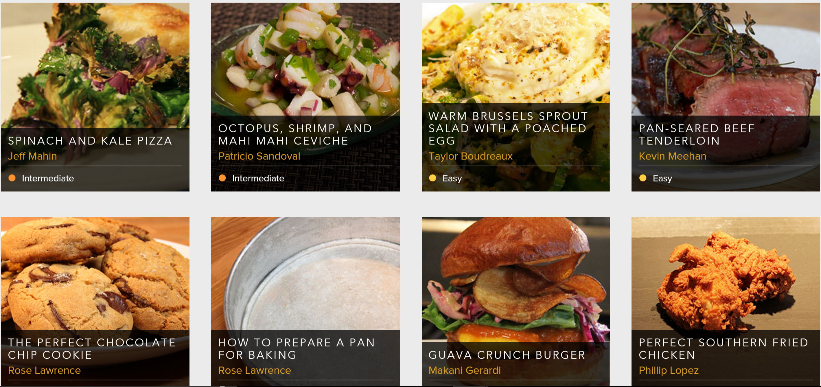 Recipes via SALTED