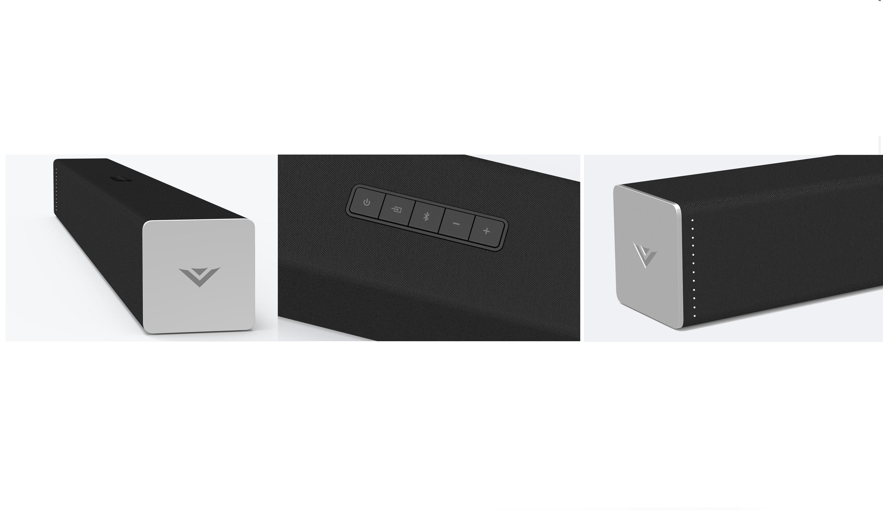 Vizio 2.1 Sound Bar System Group Shot