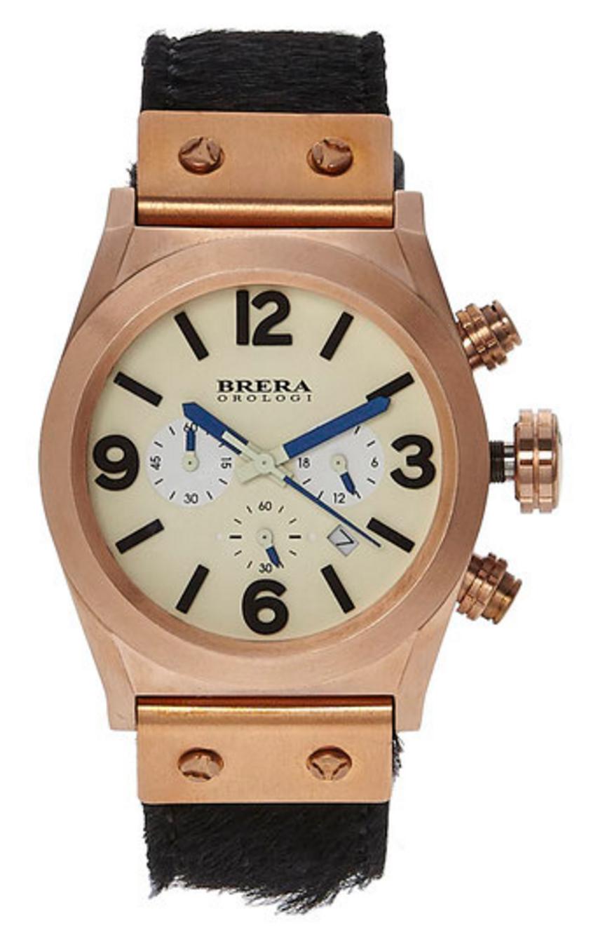Brera Orologi Bret2c3859 Rose Gold tone watch