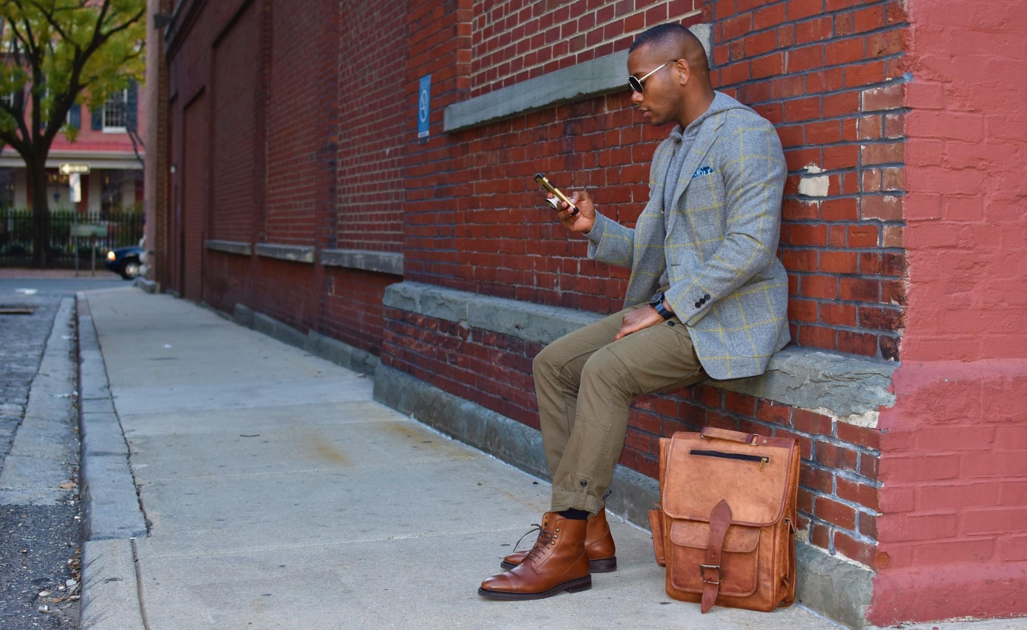 Sabir M. Peele review High On Leather Vintage Backpack