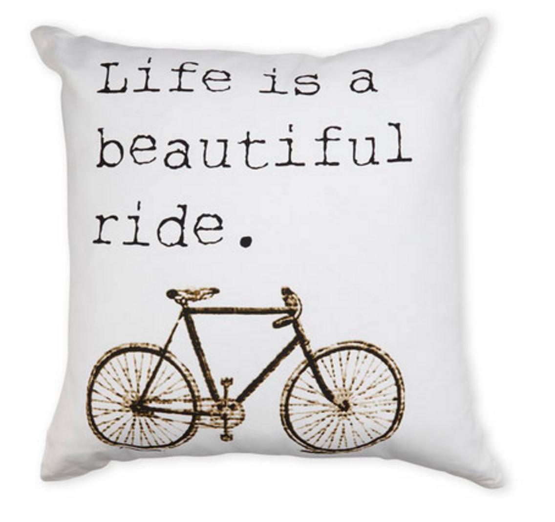 Famous Maker Beautiful Ride Throw Pillow