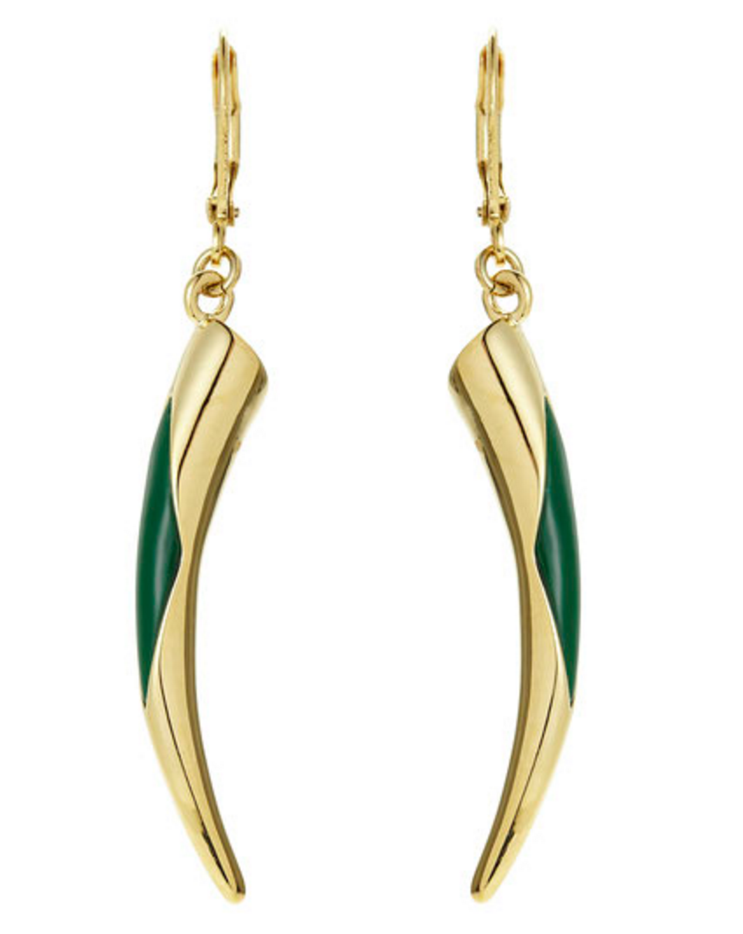 Vince Camuto Gold-Tone Horn Earrings