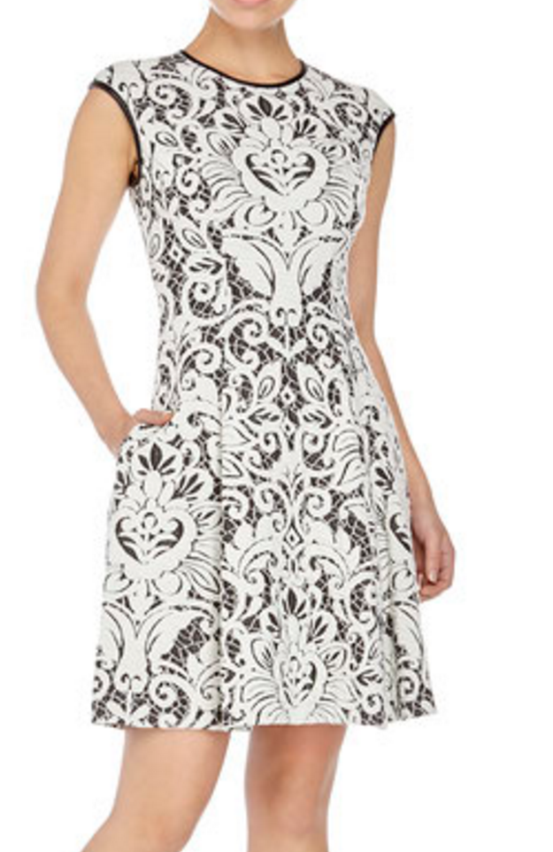 Vince Camuto Texture Dress