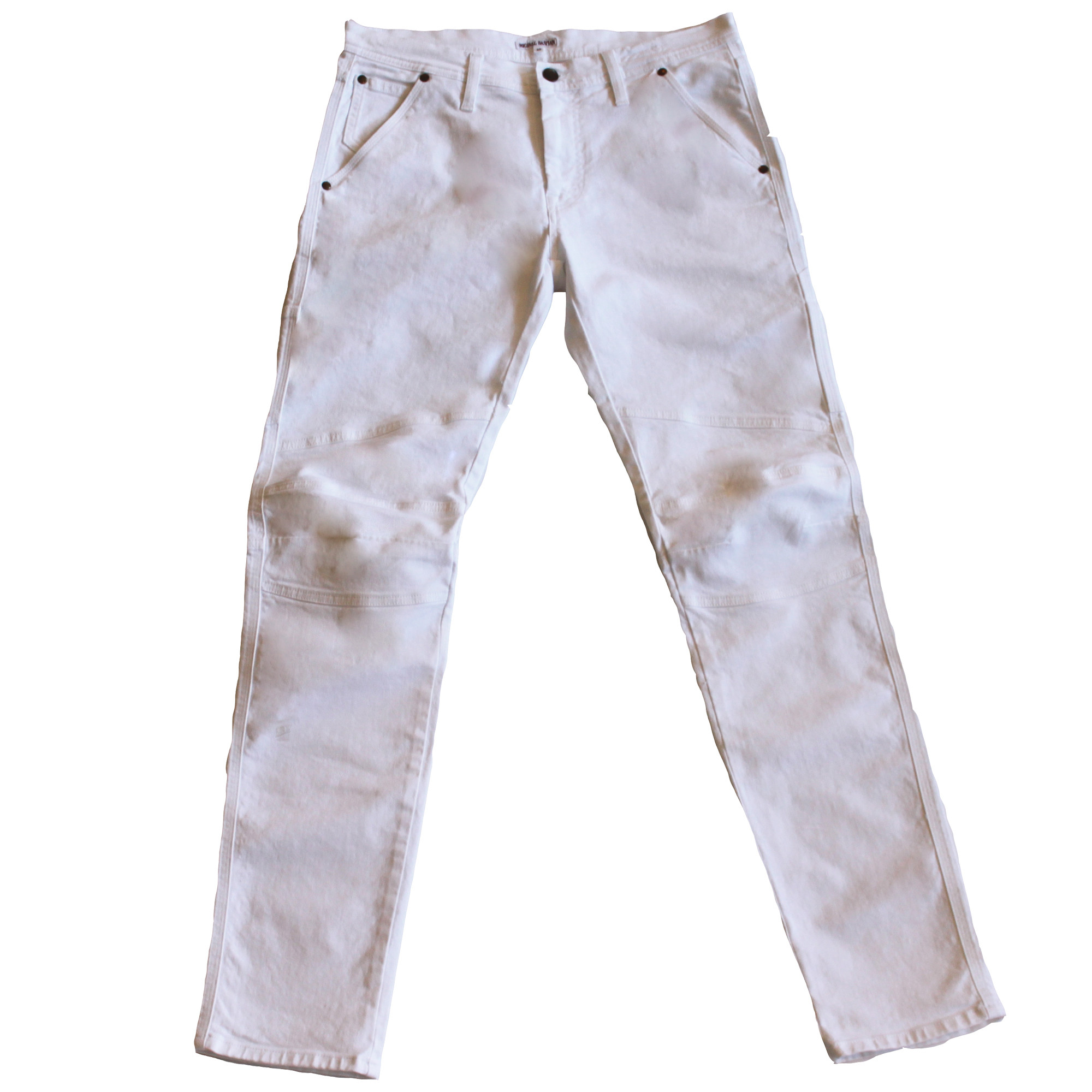 Michael Bastian Carpenter Jean - White Denim