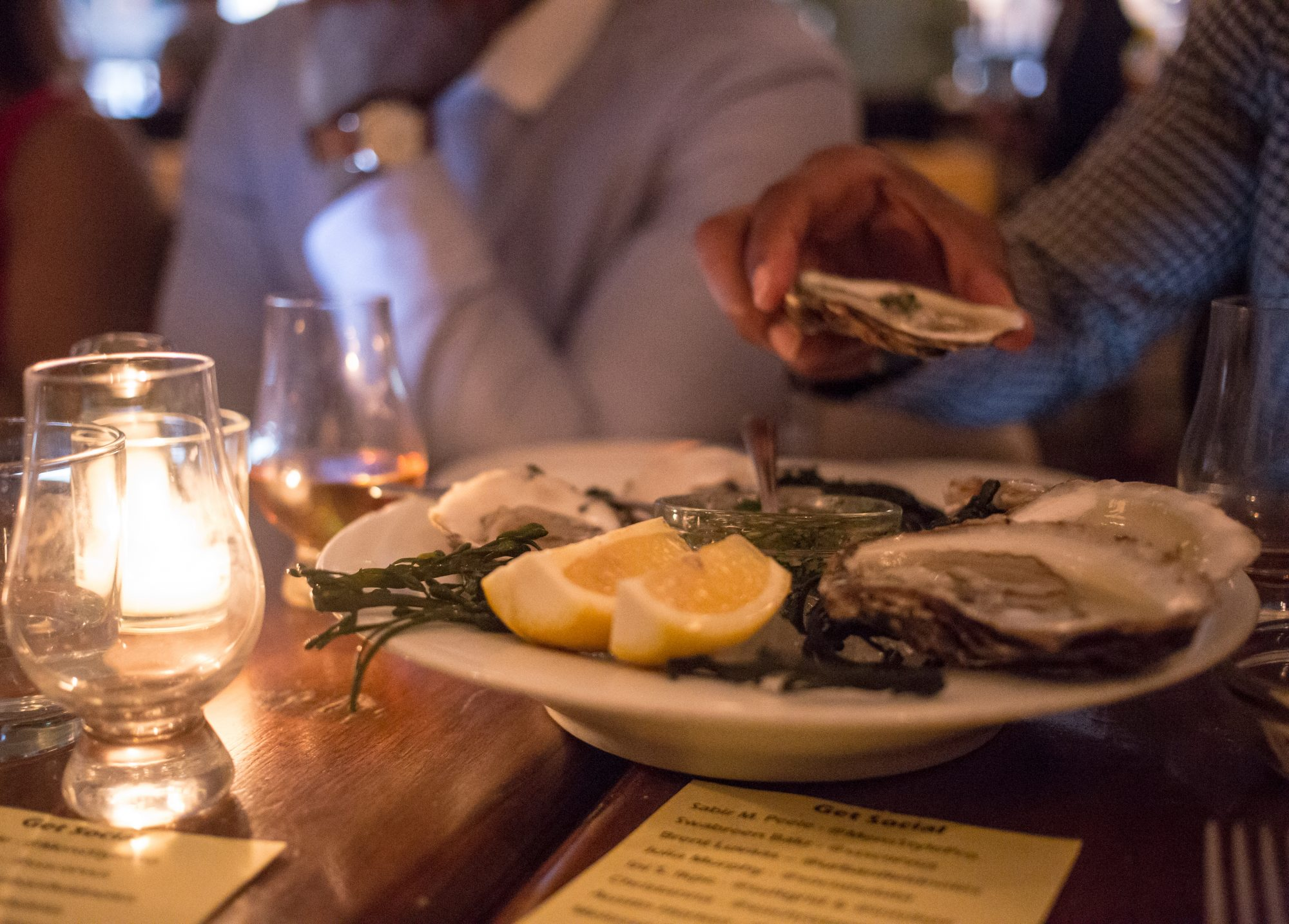 I.W. Harper Dinner With Men's Style Pro shot by Austin Horton at Twenty Manning Grill Philly
