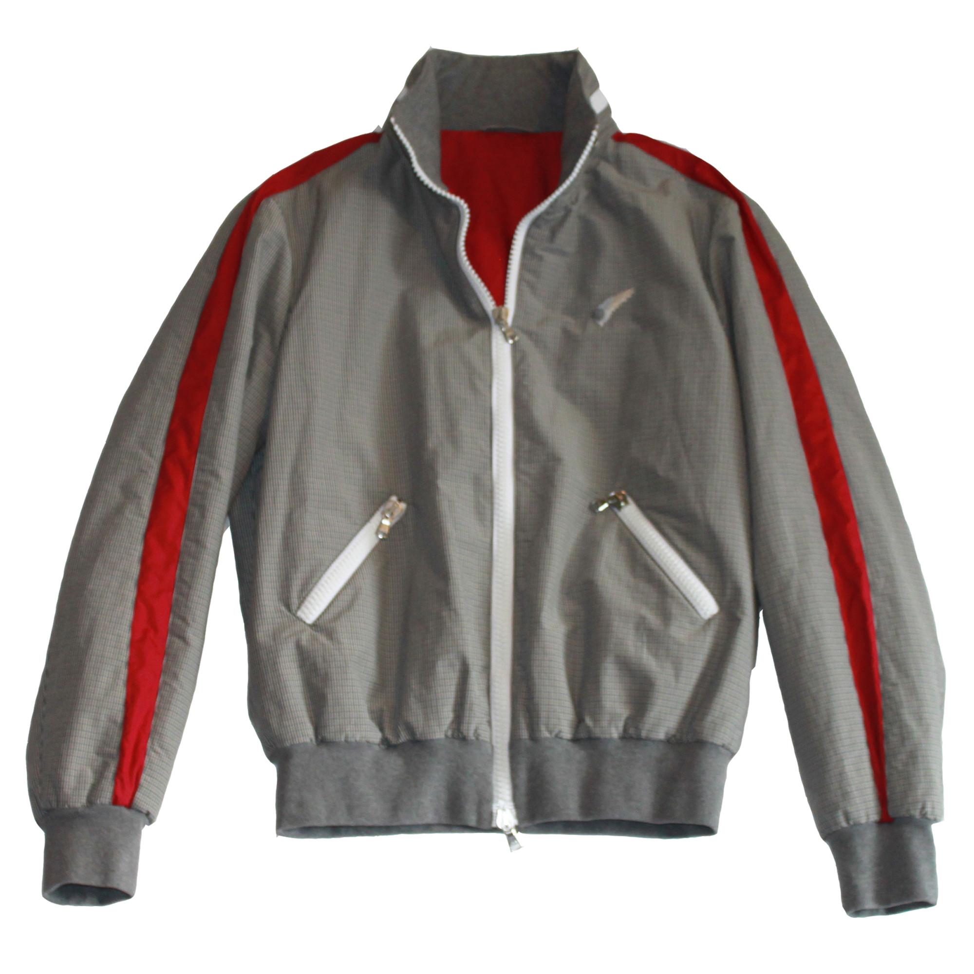 Michael Bastian Nylon Racer Jacket