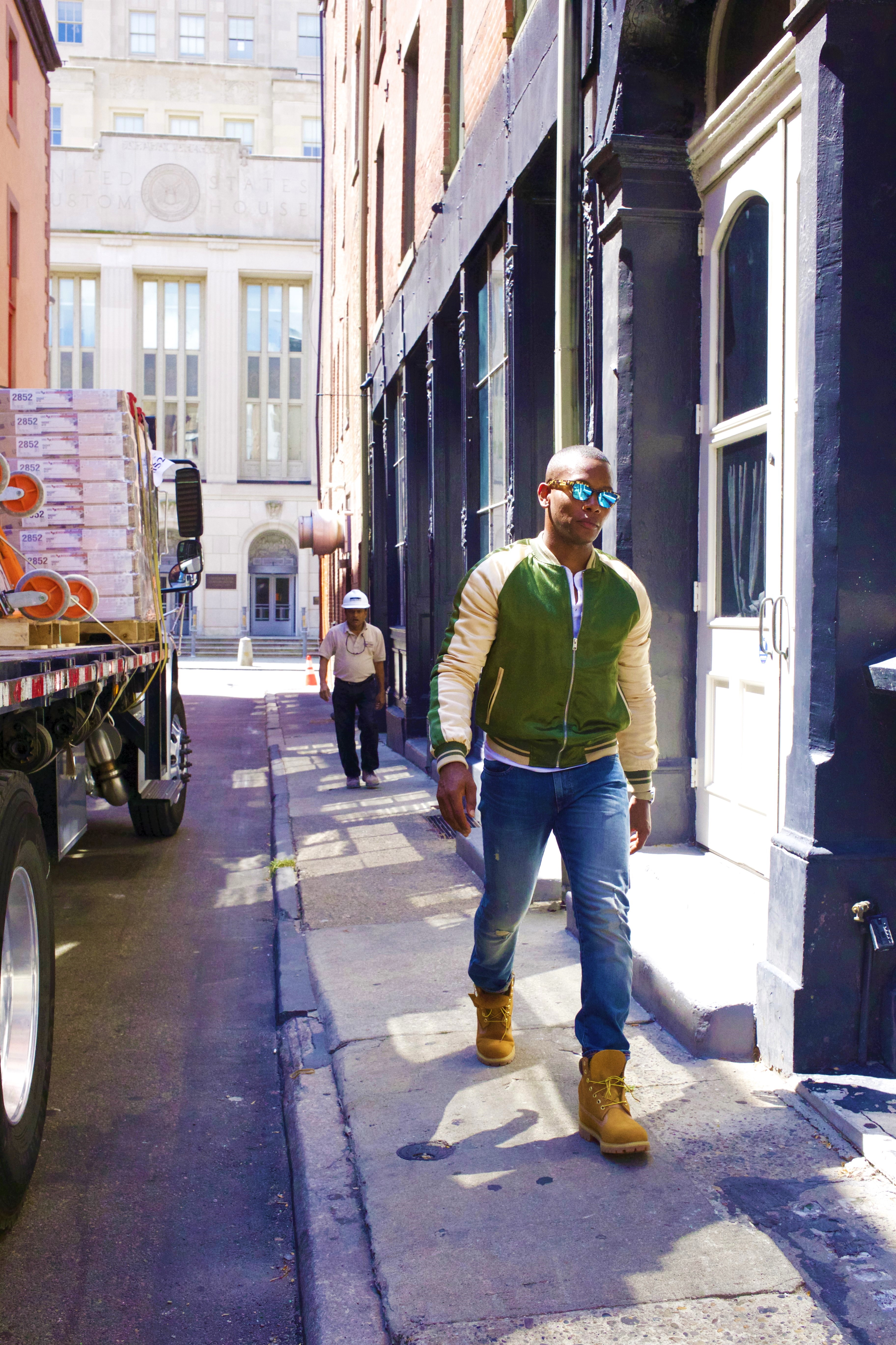 Sabir of Men's Style Pro in 6 Inch Wheat Timberland Boots