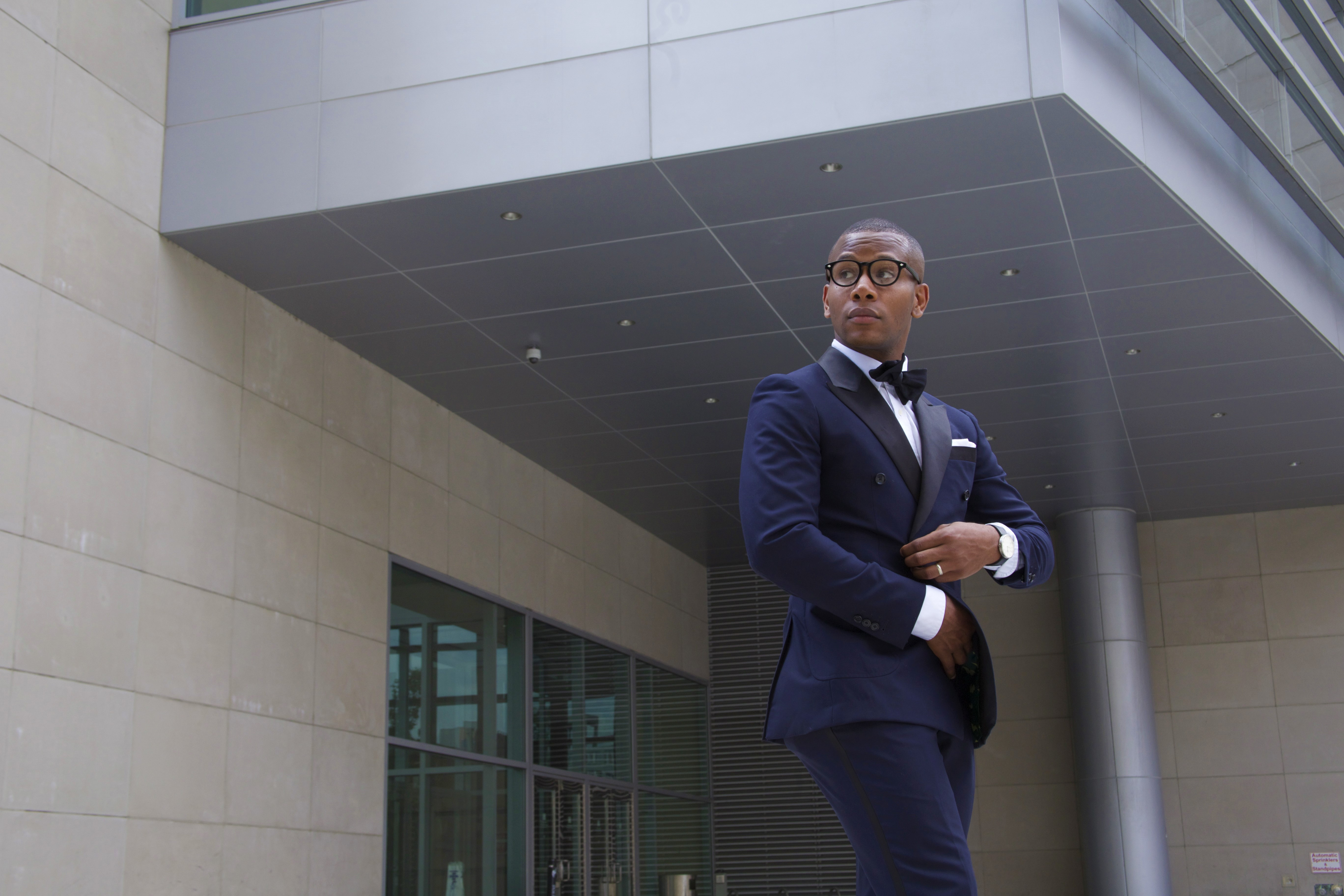 Sabir M. Peele of Men's Style Pro wearing The Napa Slipper 11