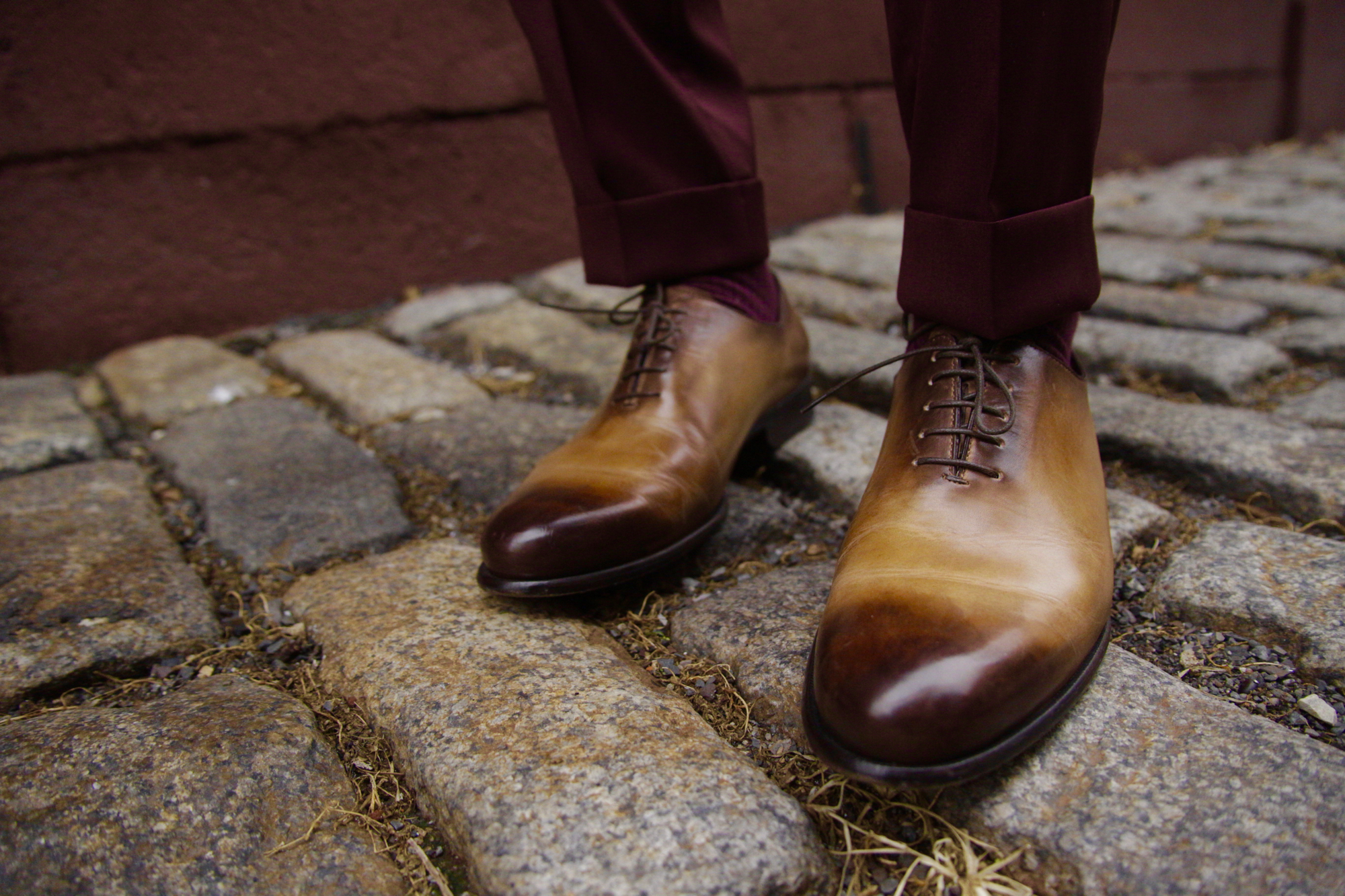 Sabir M. Peele in Paul Evans Whole Cut Oxfords