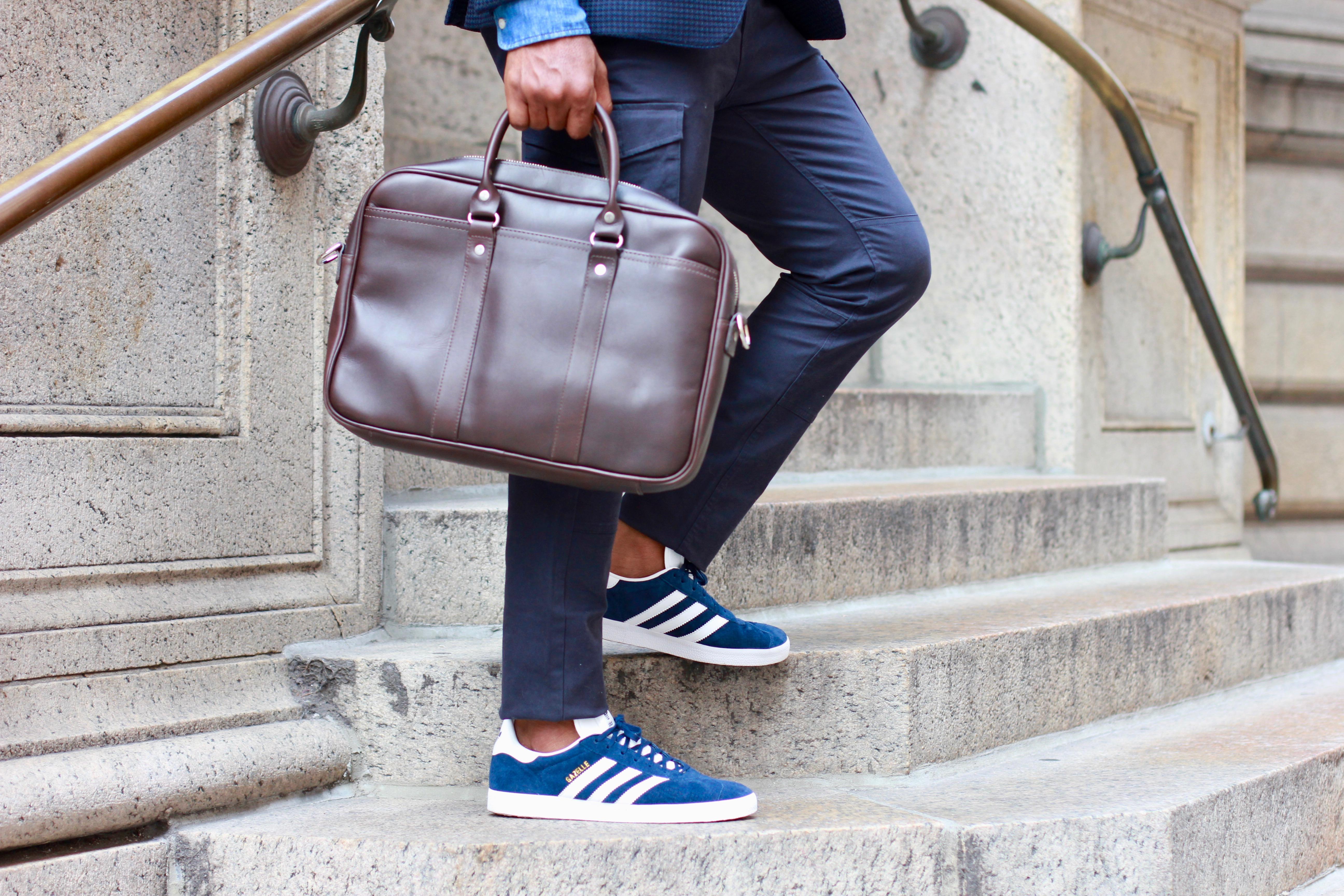 gorra volverse loco mermelada  The Resurgence Of The Luxe Suede Adidas Gazelle – Men's Style Pro ...