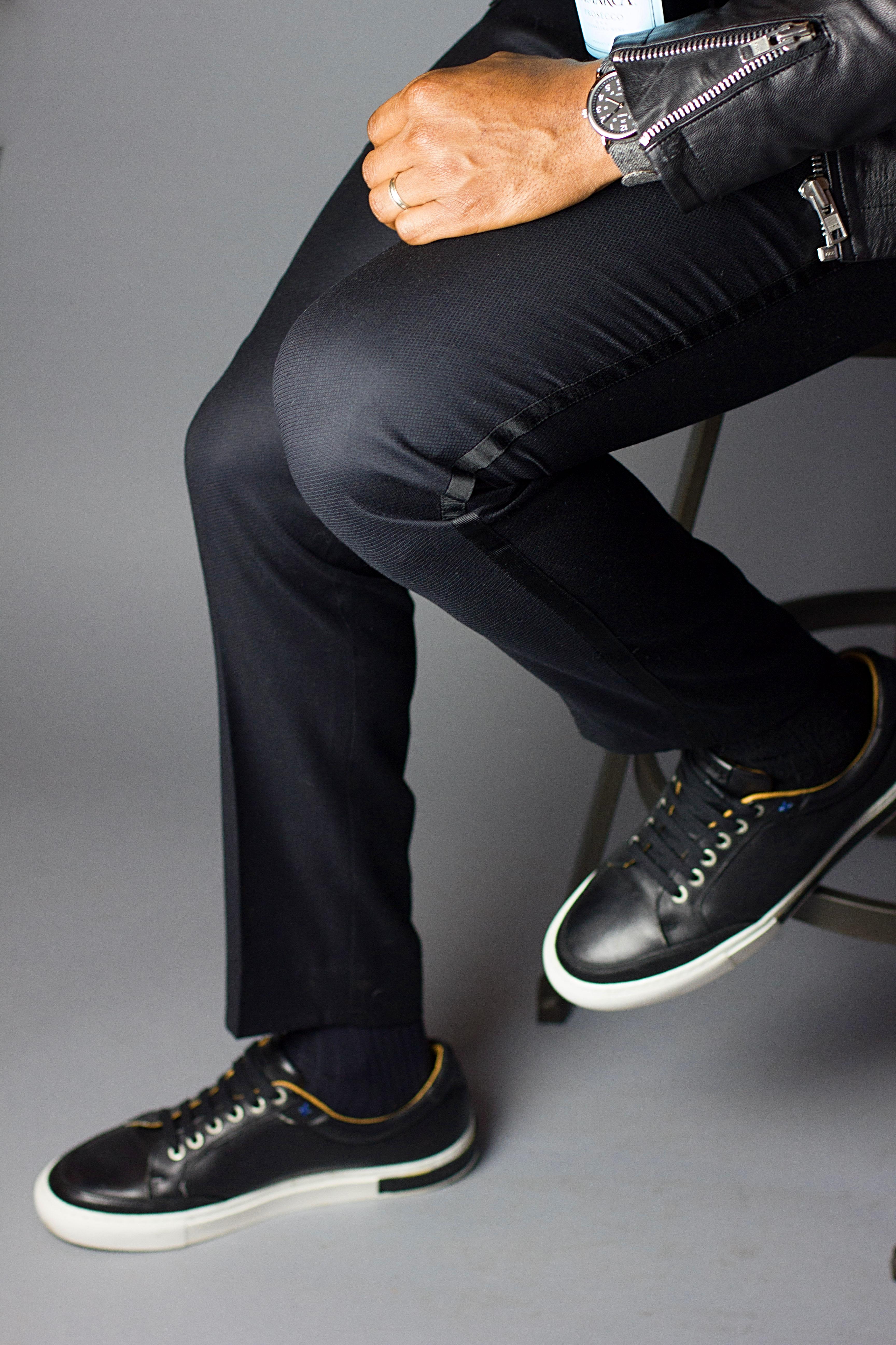Black Tuxedo Pant: NYE Style Hero 3 Ways