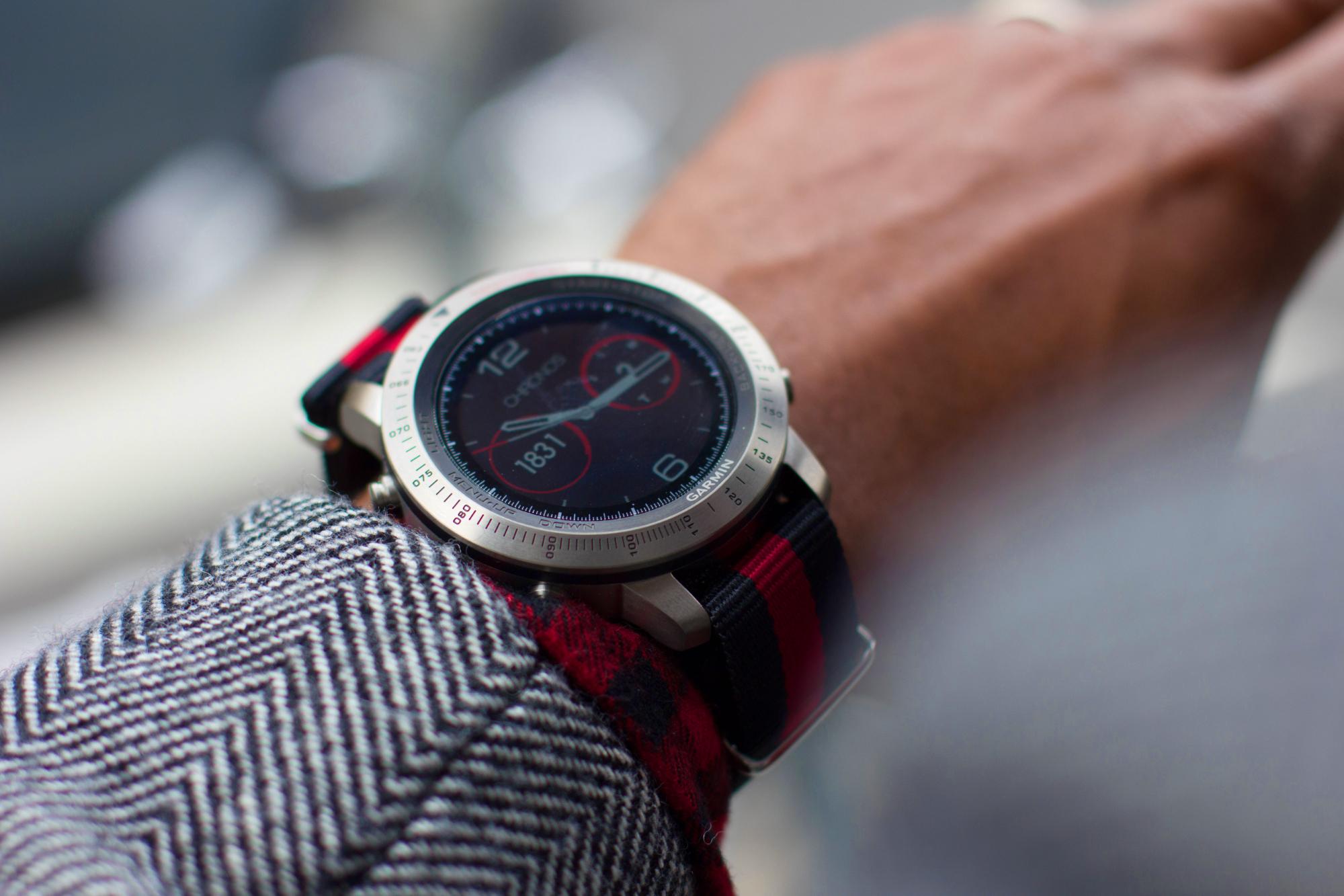 Sabir M. Peele of Men's Style Pro Fenix Chronos Garmin Smartwatch Review
