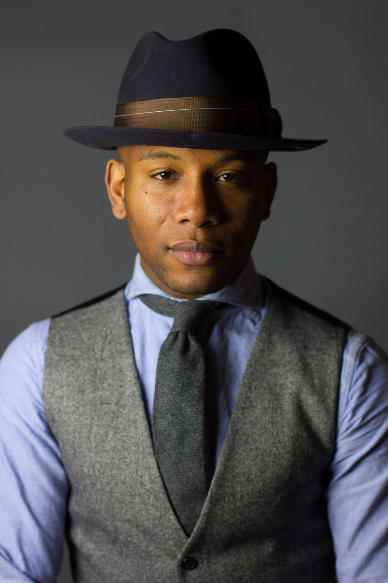 Sabir M Peele of Men's style pro in brimmed hats from goorin bros