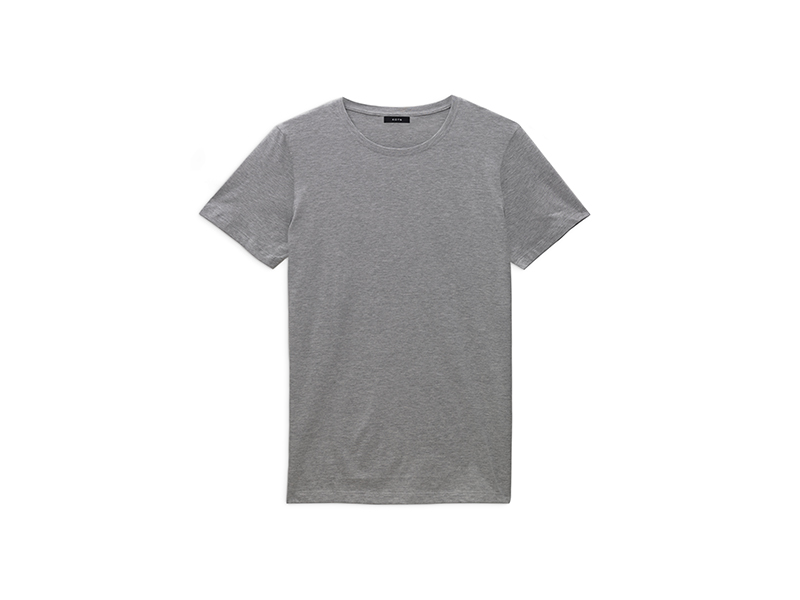 Kotn crew neck grey t-shirt