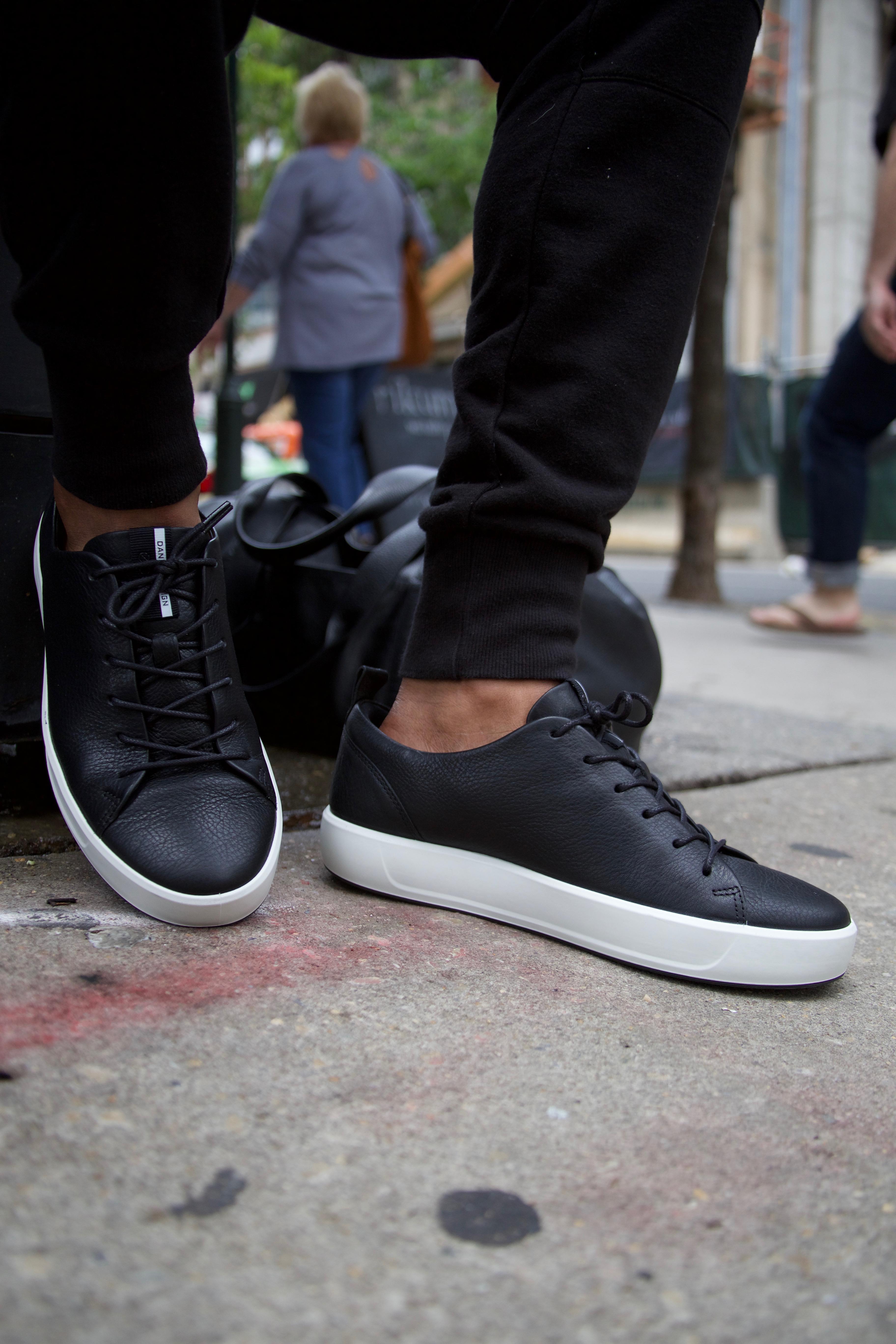 Maximized Minimal Sneakers w ECCO Soft 8 Two Ways C Men's