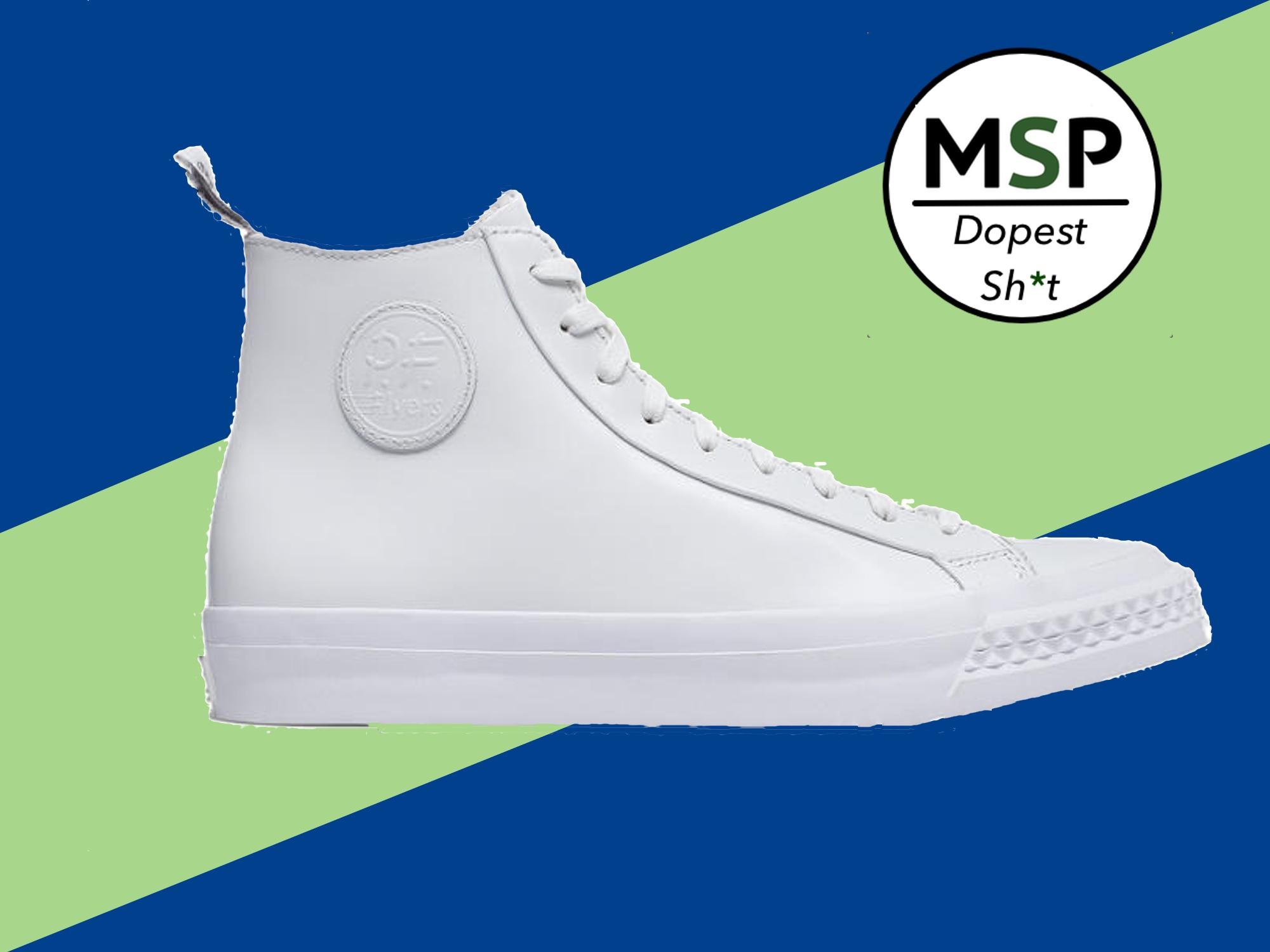 13c17f4e6483 Todd Snyder x PF Flyer White Rambler Hi Sneakers – Men s Style Pro ...